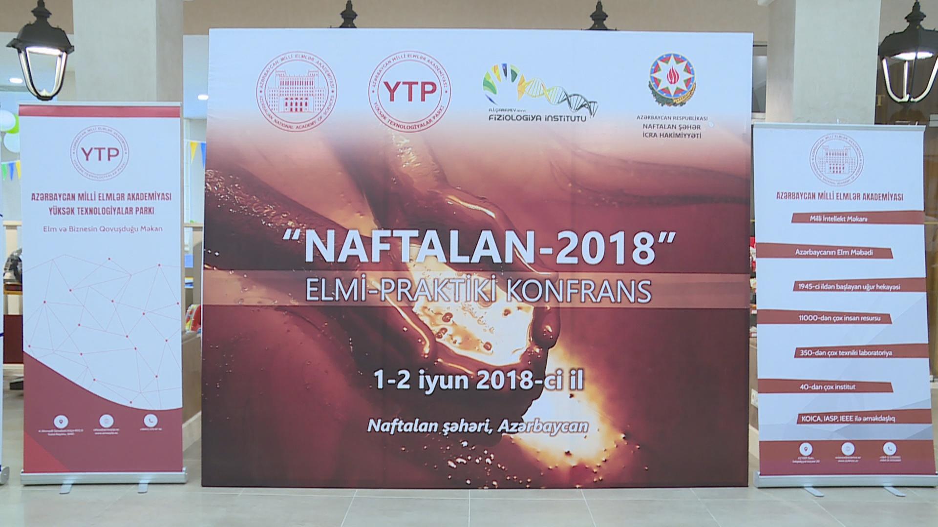 """""""Naftalan-2018"""" multidisiplinar beynəlxalq elmi-praktiki konfransı keçirilib"""