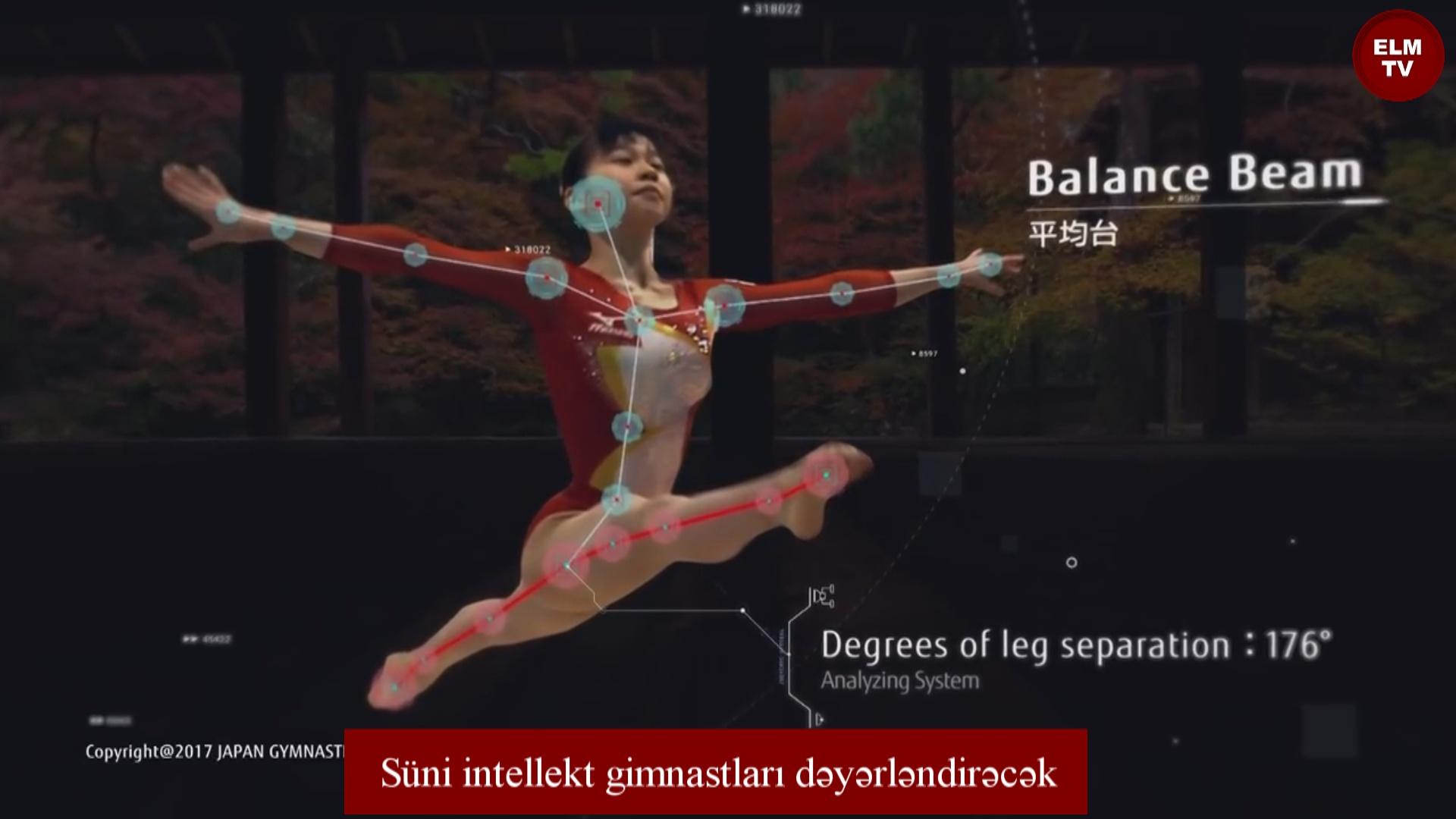 Süni intellekt gimnastları dəyərləndirəcək
