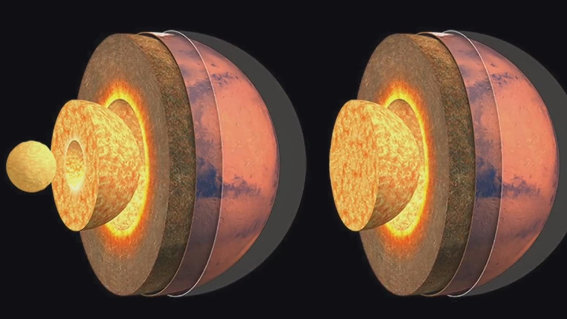 Alimlər Mars planetinin daxili strukturunu öyrənib