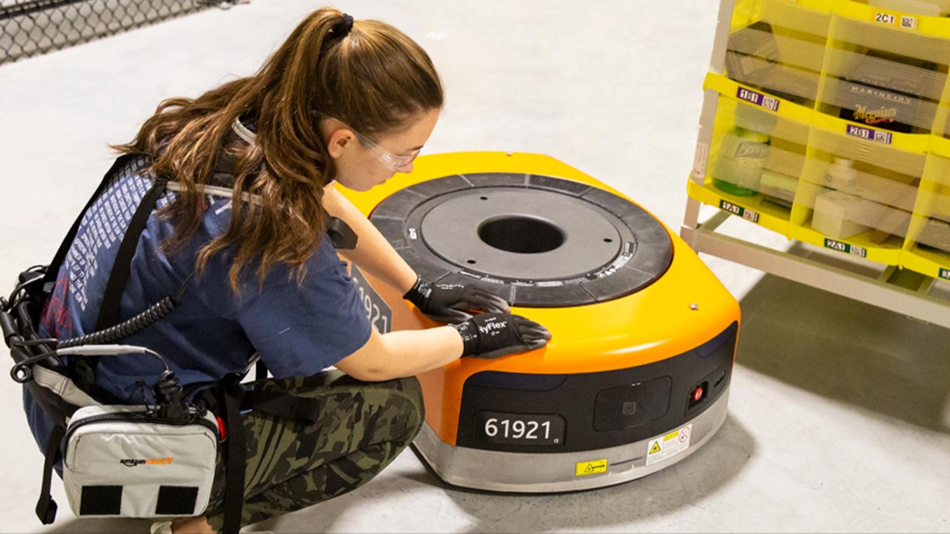 Elektron jilet insanların robota yaxınlaşacağını öncədən xəbər verir