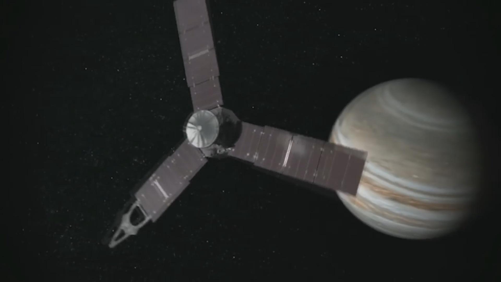 Juno süni peykinin fəaliyyət müddəti uzadılıb