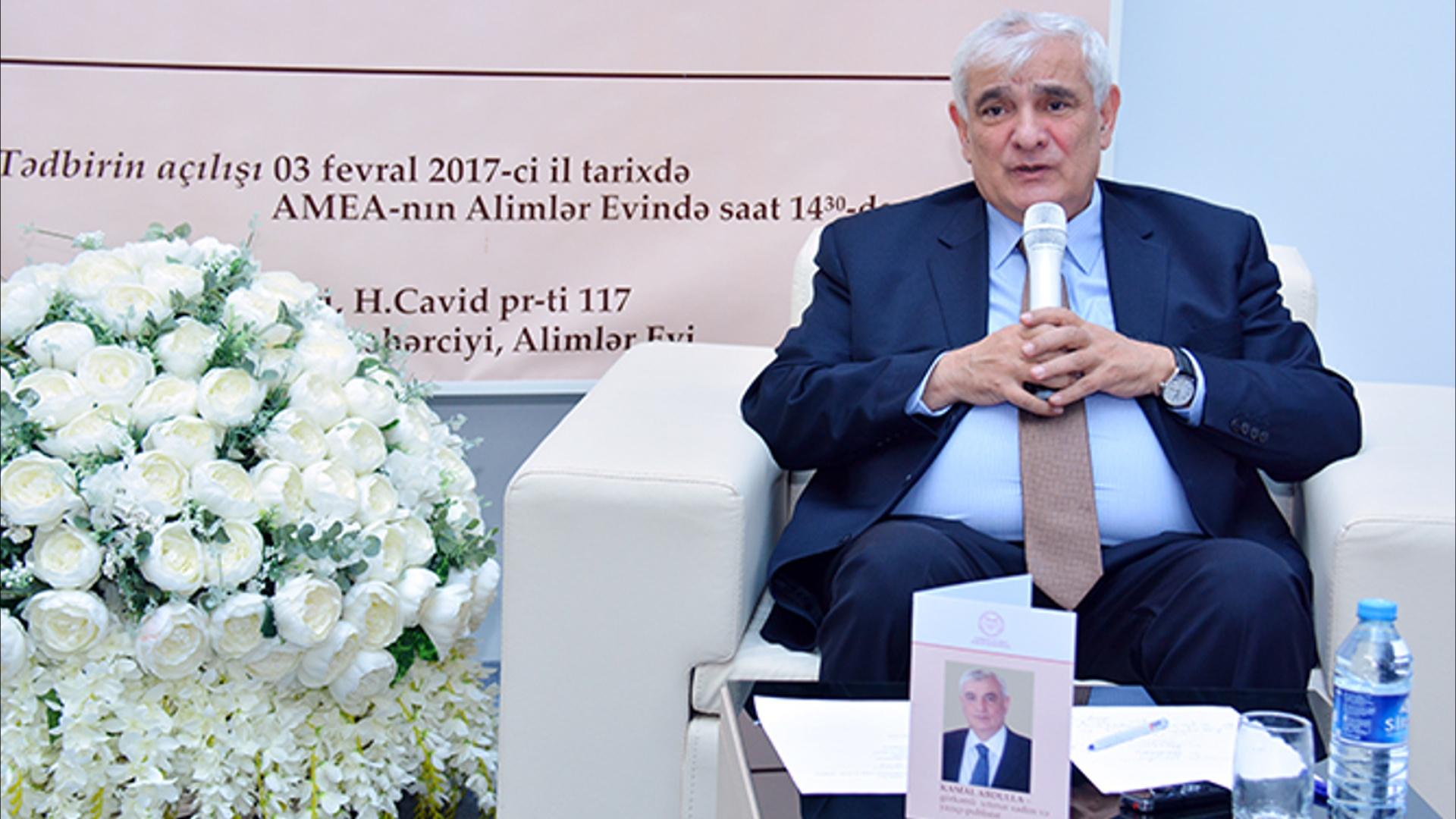 Akademik Kamal Abdullayevlə görüş keçirilib