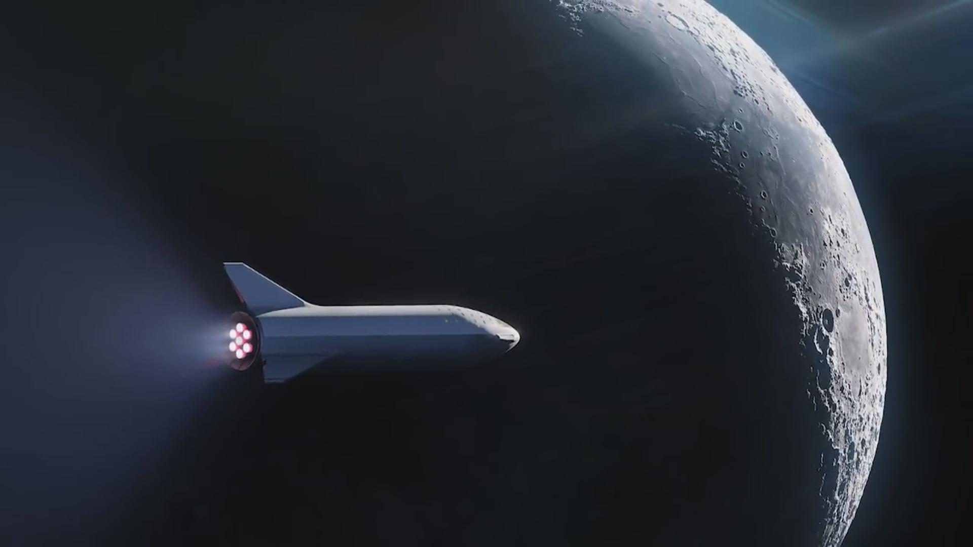 Starship kosmik gəmisinin mühərrikinin ilk sınağı keçirilib