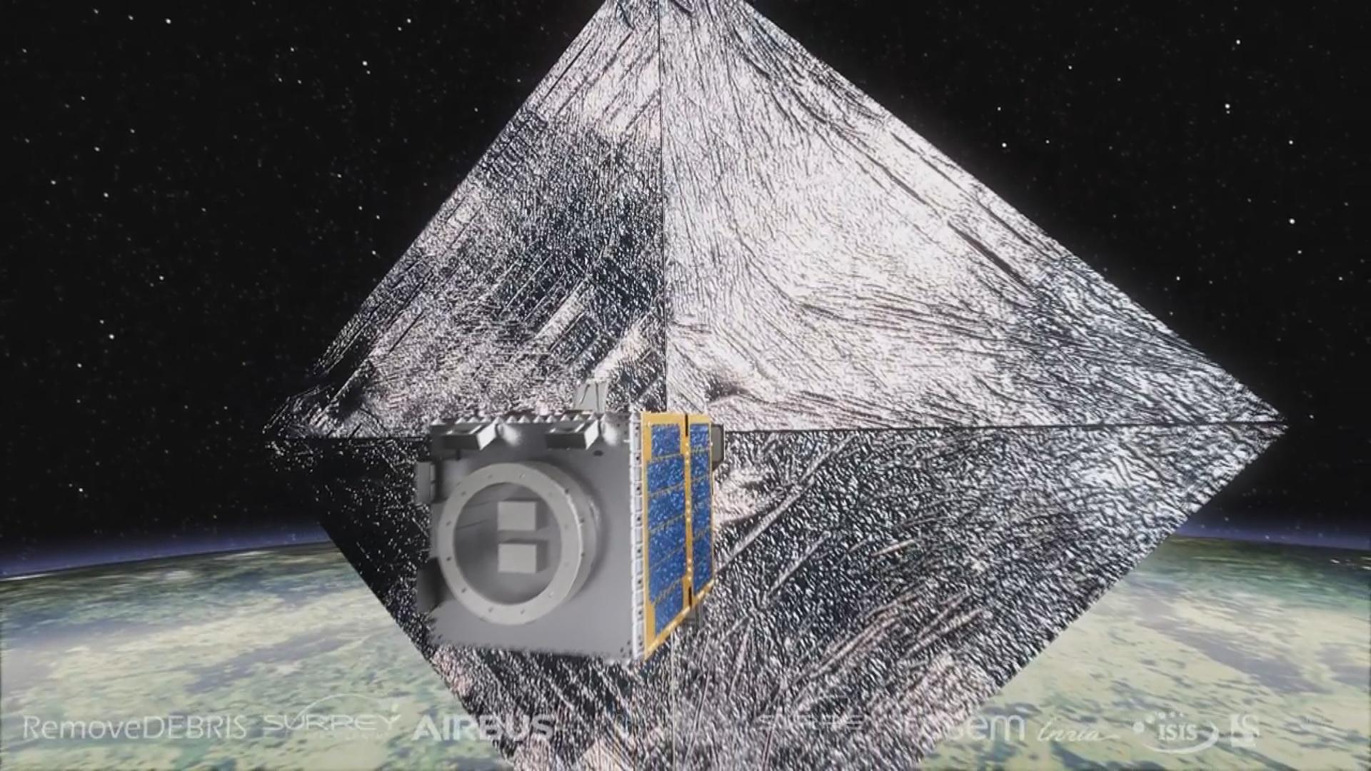 Kosmosda zibil yığan qurğunun sınağı həyata keçiriləcək