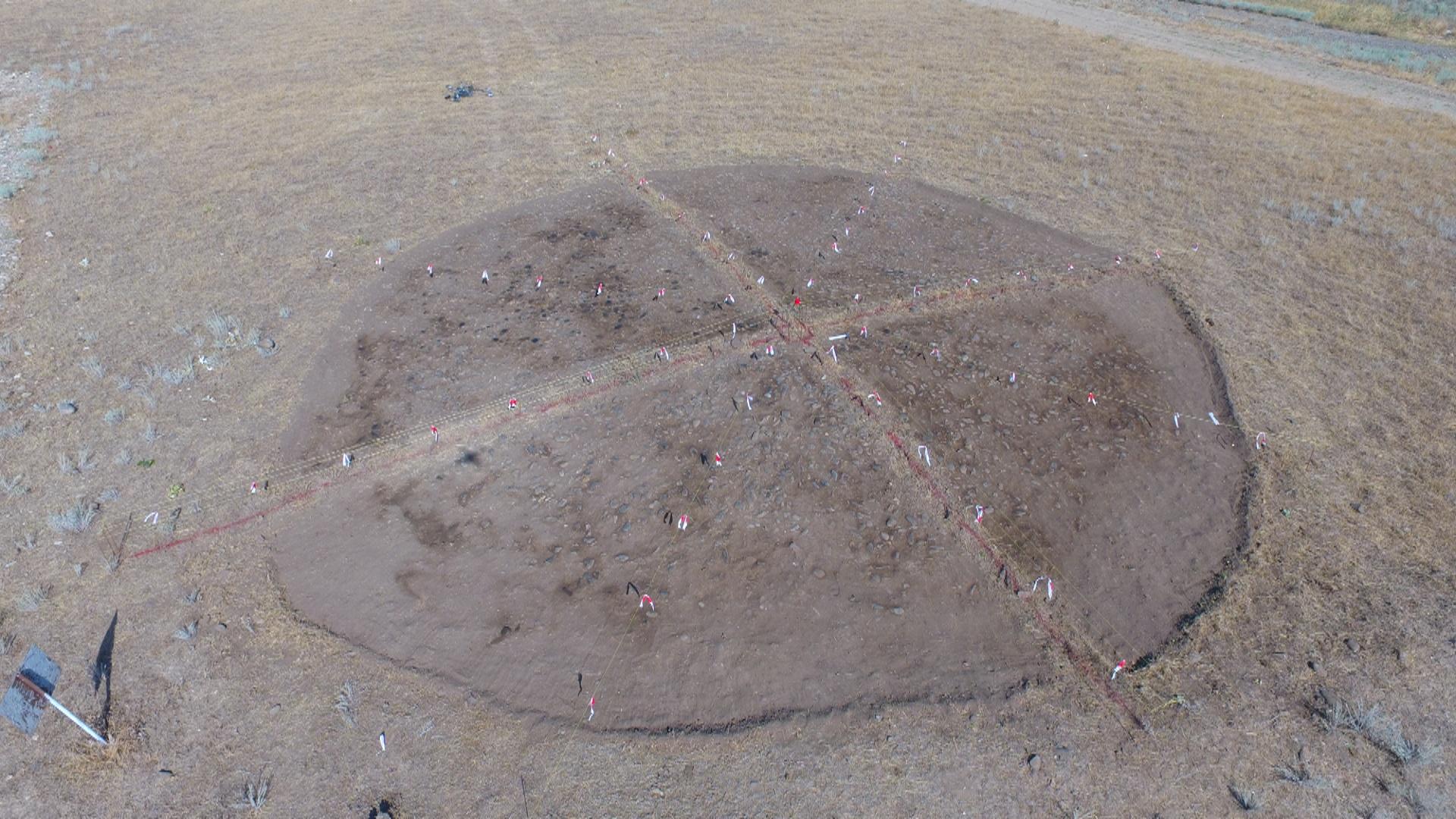 Keşikçidağ DTMQ-da arxeoloji tədqiqatlar zamanı yeni maddi mədəniyyət nümunələri aşkarlanıb