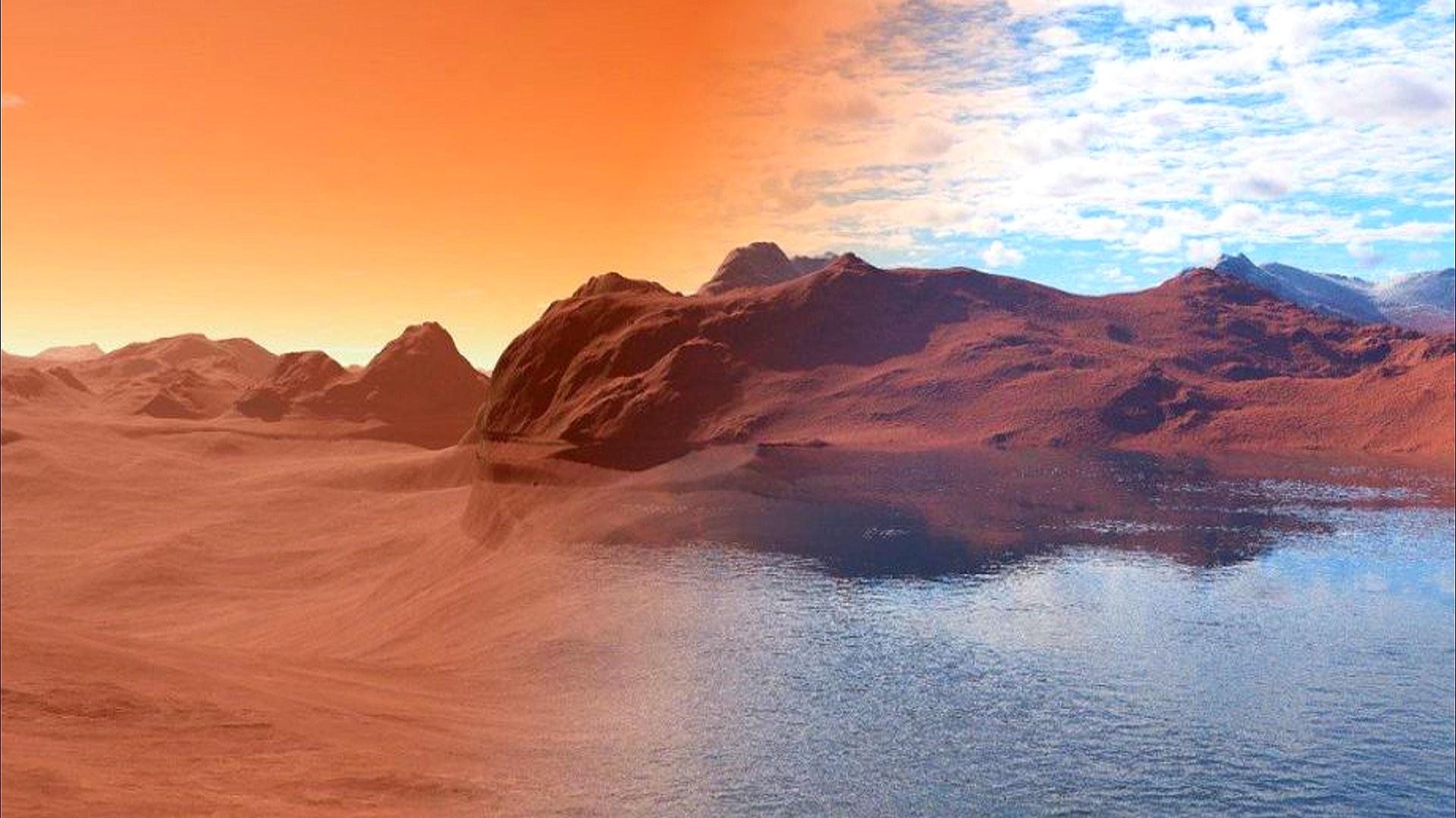 Marsda 4,4 milyard il öncə su olduğu kəşf edilib