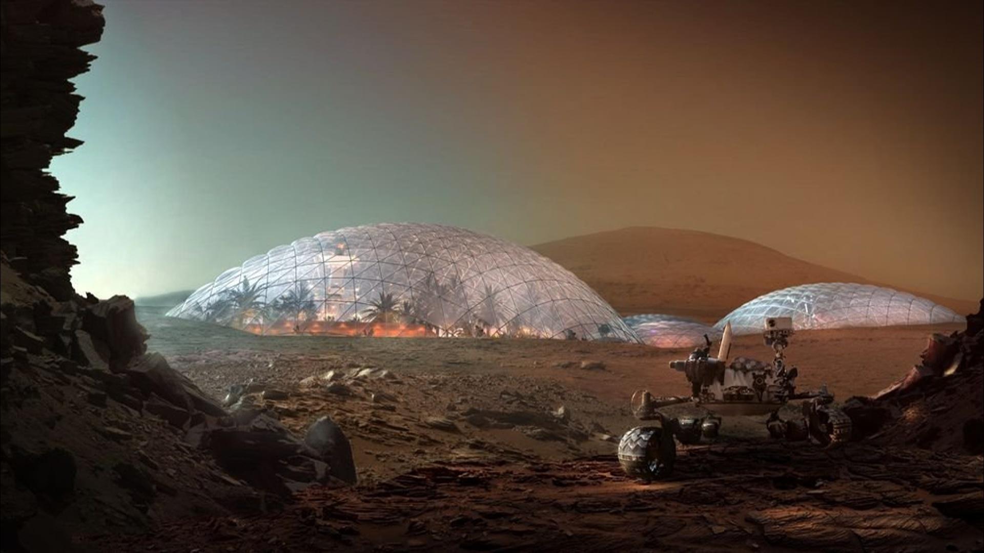Marsda şəhər salınması planlaşdırılır