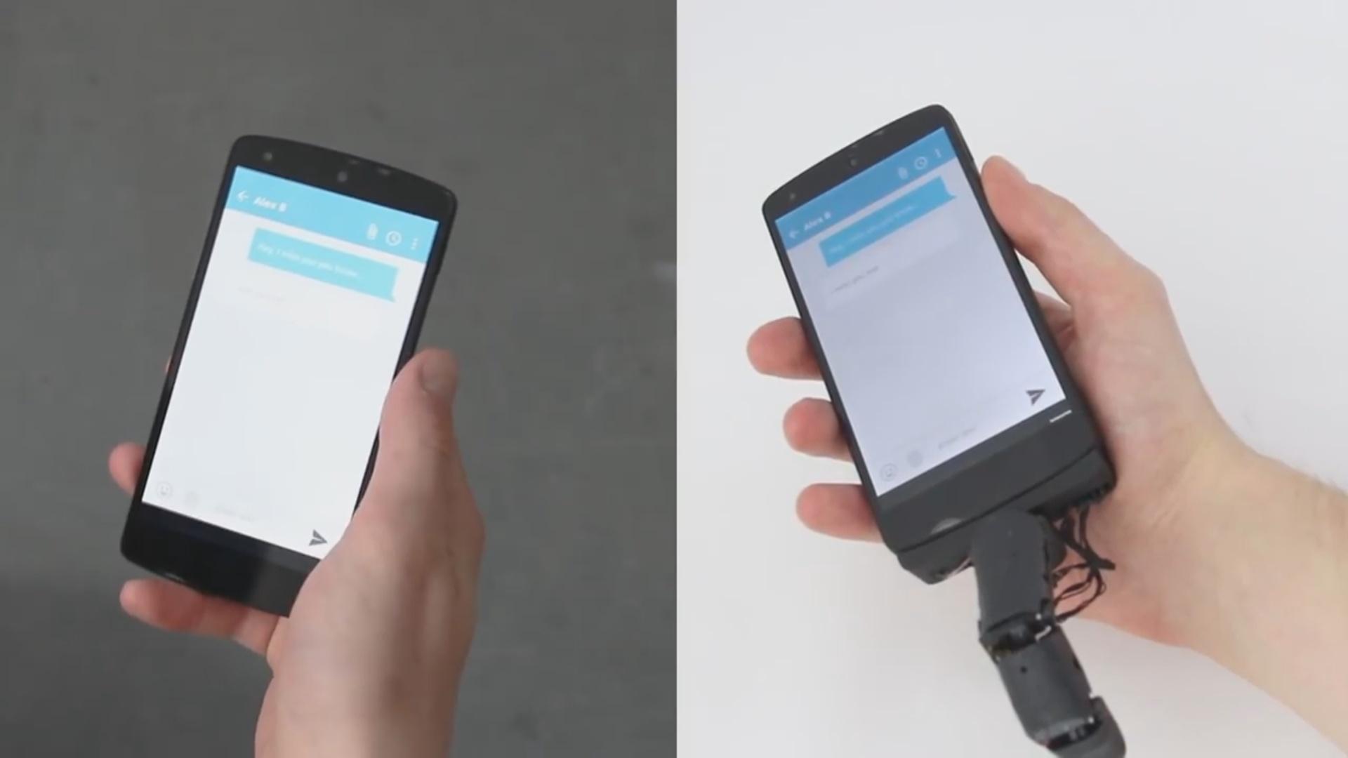 Bu cihaz vasitəsilə telefonunuz sizə toxuna biləcək