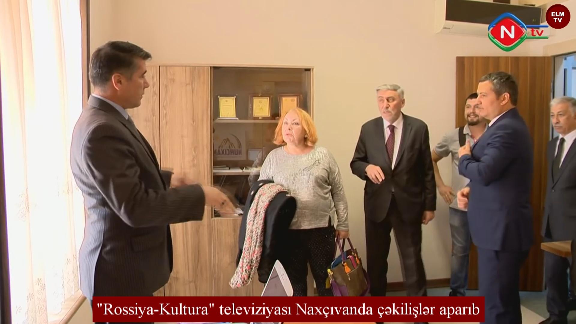 """""""Rossiya-Kultura"""" televiziyası Naxçıvanda çəkilişlər aparıb"""
