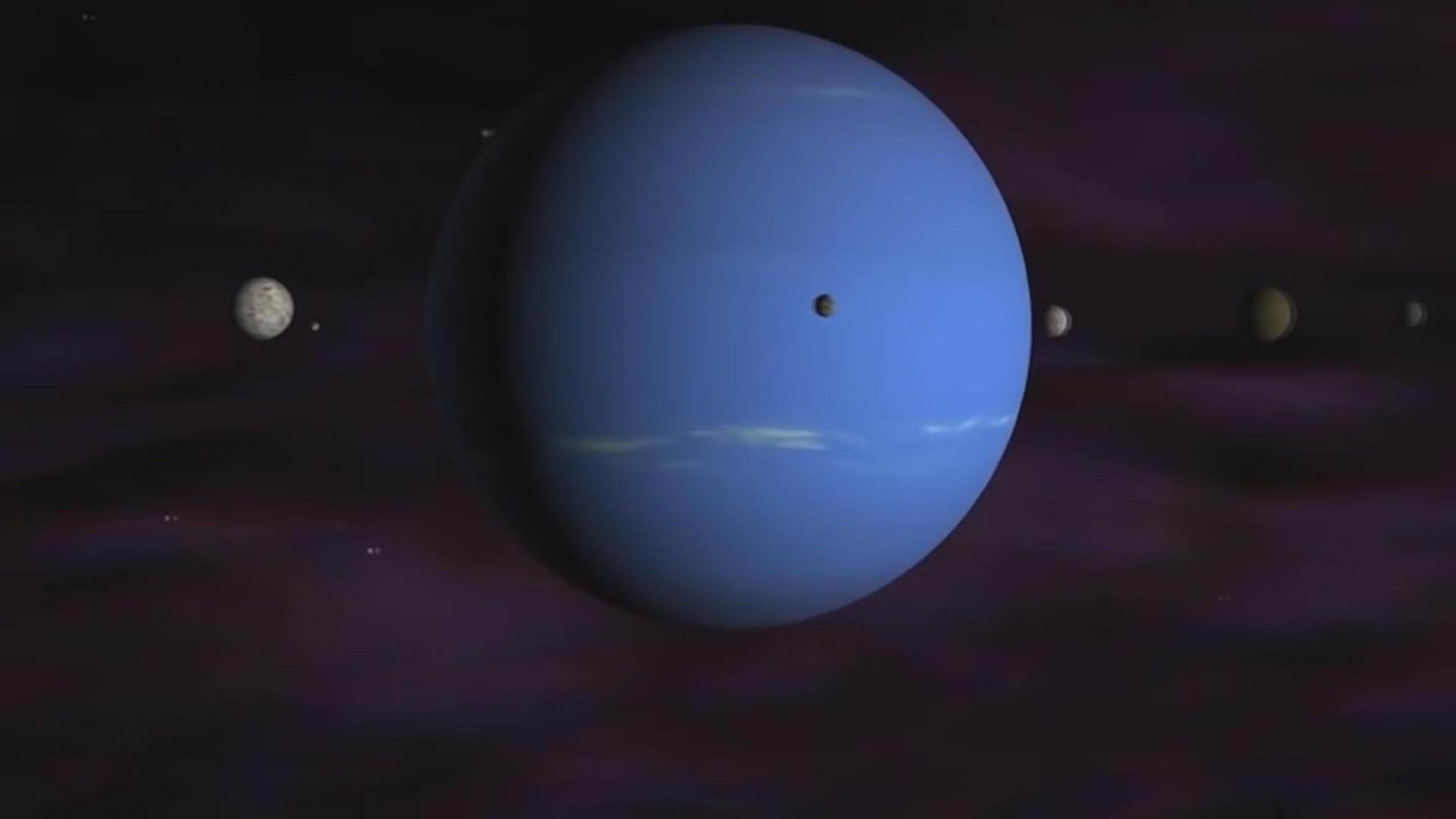 Neptunun ən kiçik peyki parçalandıqdan sonra yenidən yaranır