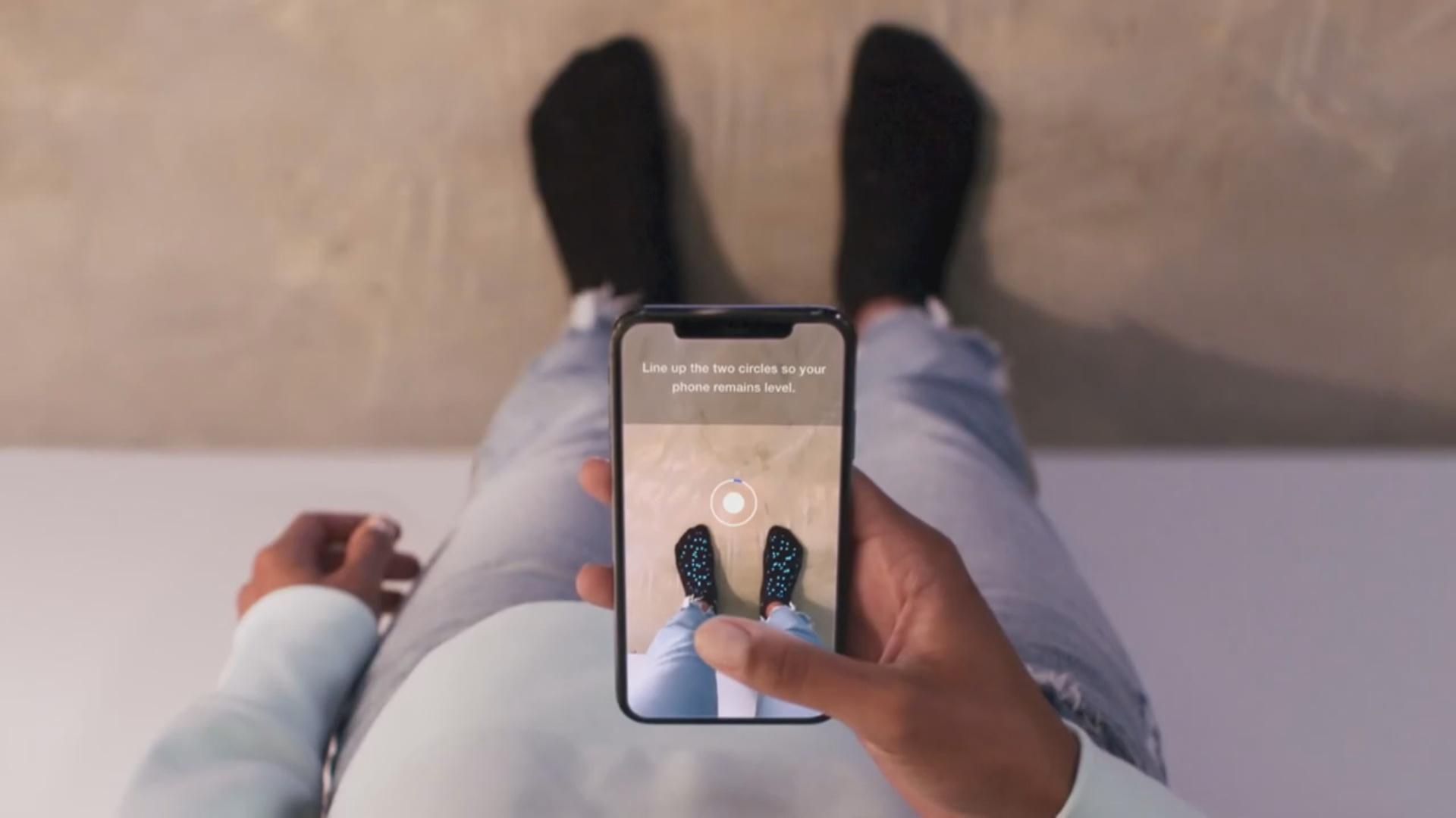 """""""Nike Fit"""" smartfonun köməyilə ideal ayaqqabını seçməyə kömək edəcək"""