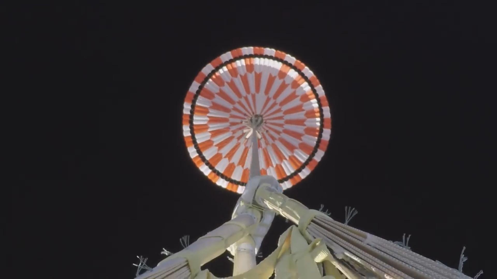 """""""Mars 2020"""" missiyası üçün hazırlanmış paraşütün sınaqları keçirilib"""