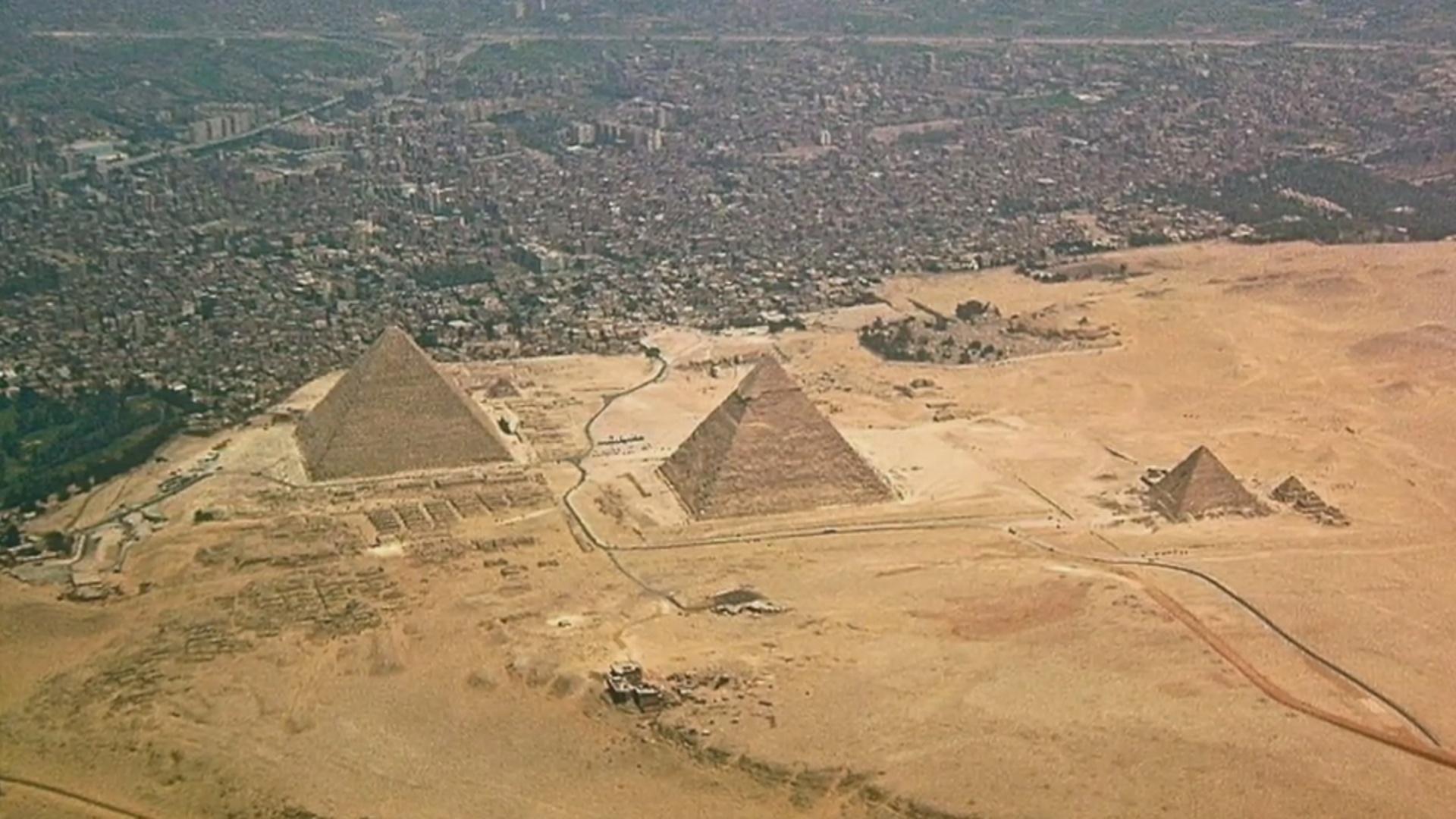Piramidaların inşası ilə bağlı yeni tapıntı əldə olunub