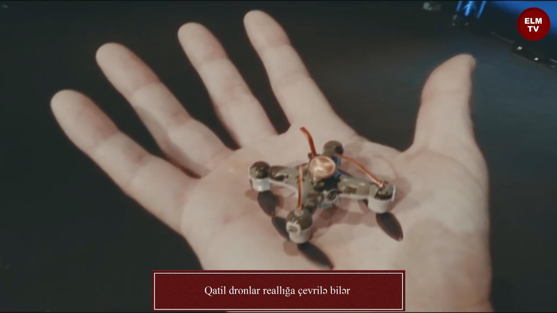 Qatil dronlar reallığa çevrilə bilər