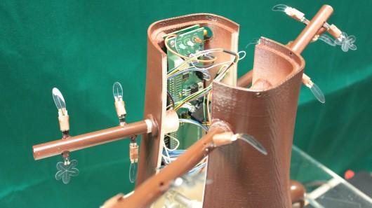 Robot ağac böyümək qabiliyyətinə malikdir