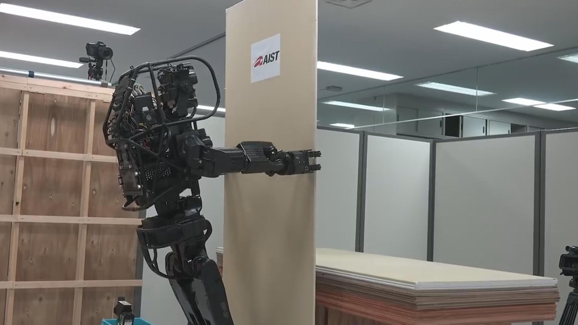 Tikinti işlərini robot həyata keçirəcək