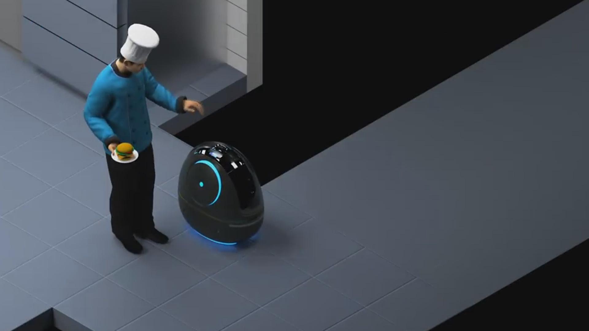 Artıq hoteldə sifarişləri robot qəbul edəcək
