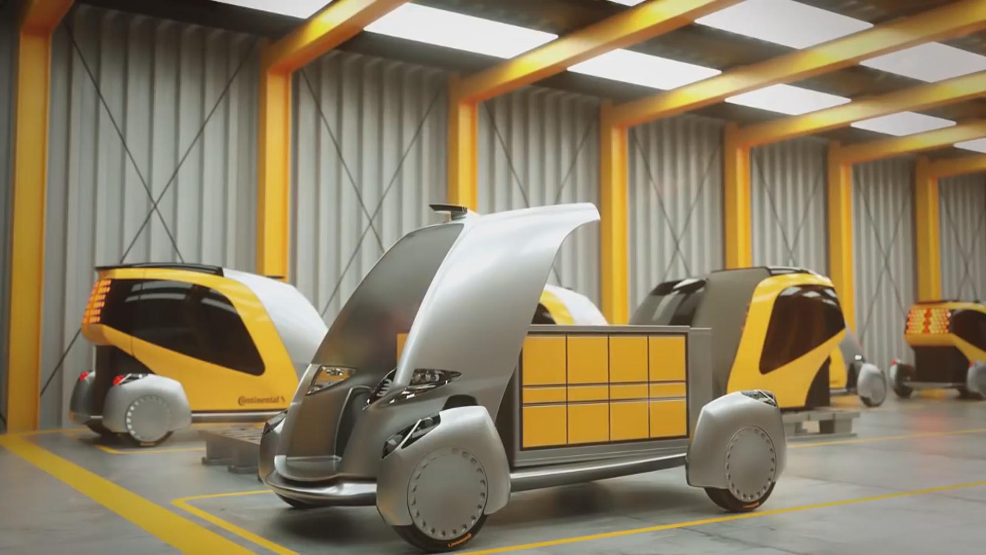 Robot kuryerlərin işinin sürətləndirilməsi planlaşdırılır