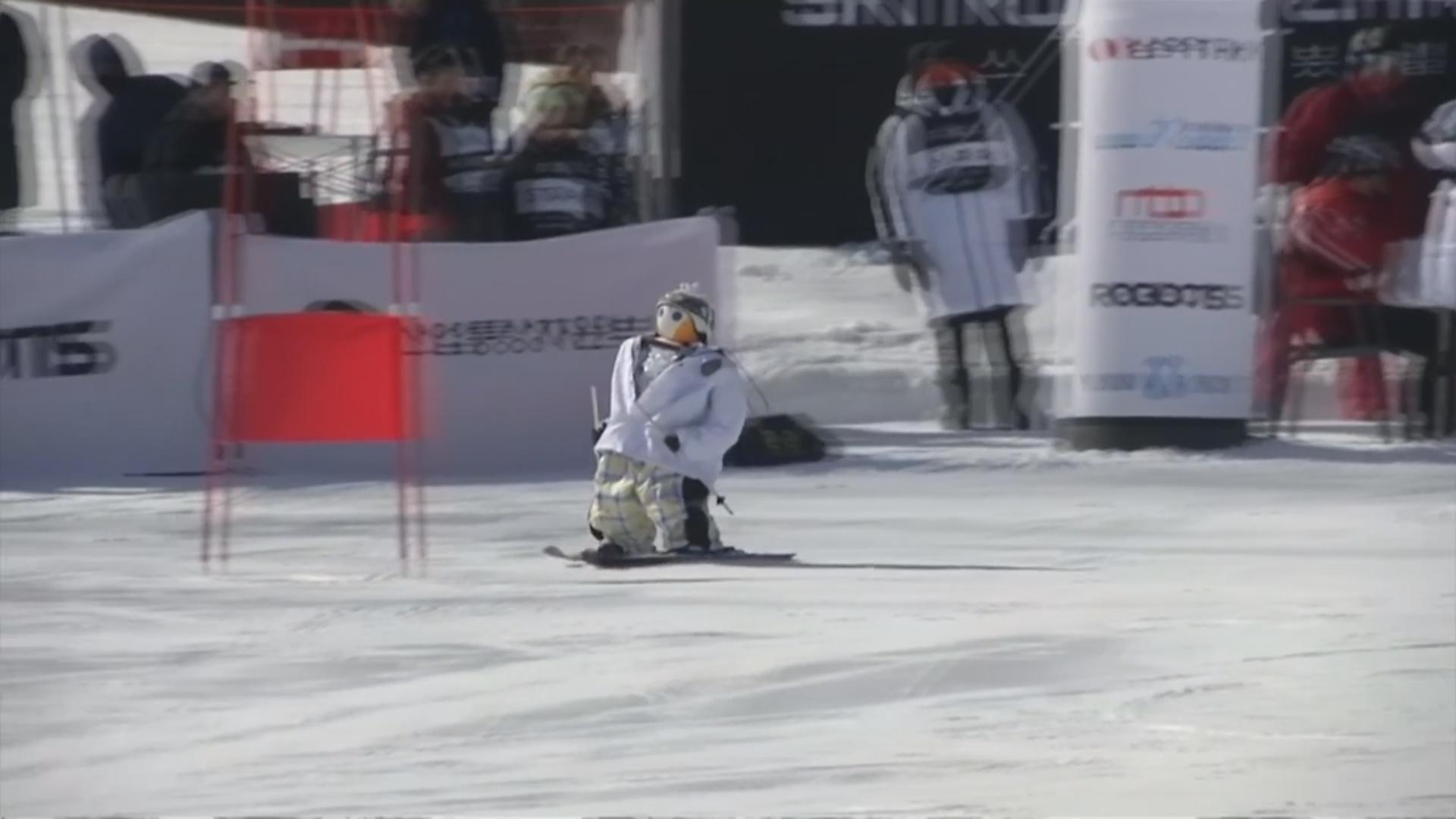 Robotlar arasında xizək yarışları keçirilib