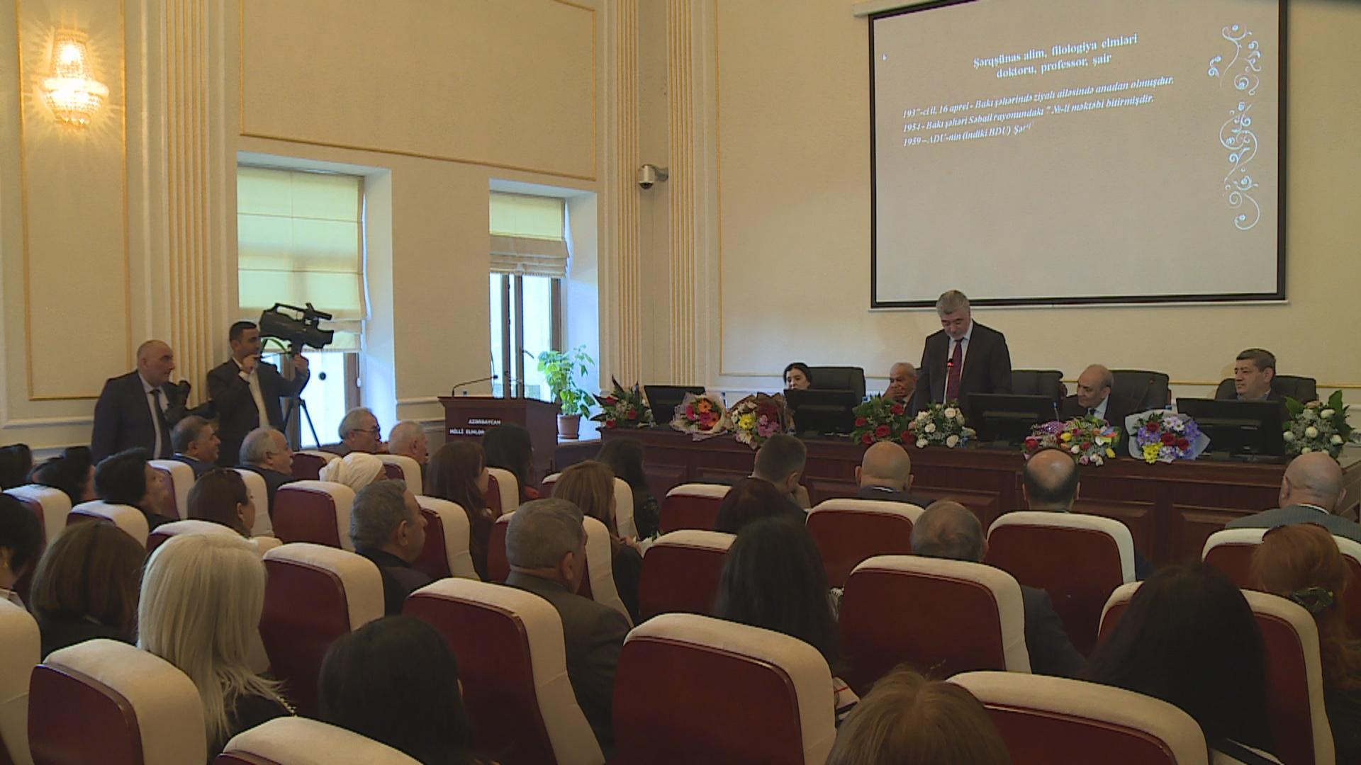 Professor Roza Eyvazovanın 80 illik yubileyinə həsr olunan elmi konfrans keçirilib