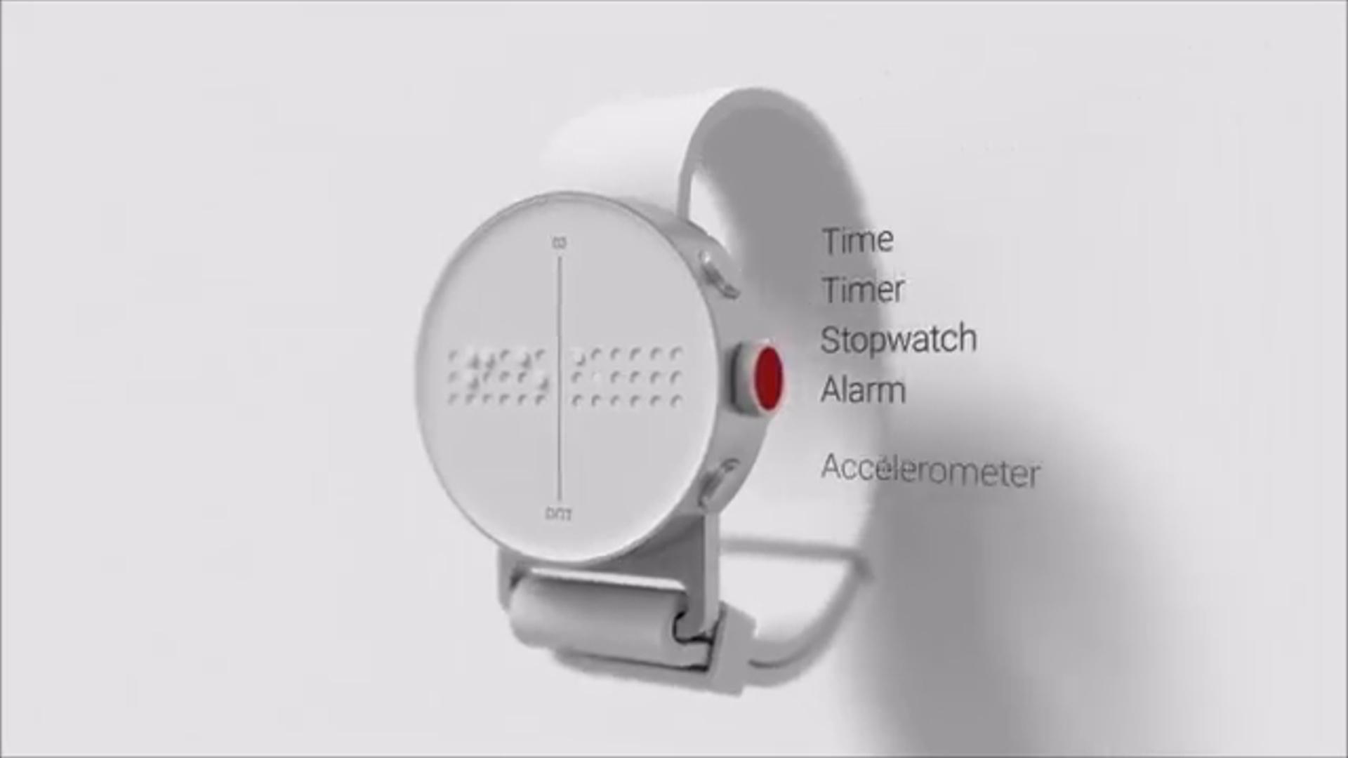 Cənubi Koreya alimləri görmə qüsurlu insanlar üçün saat istehsal etdi