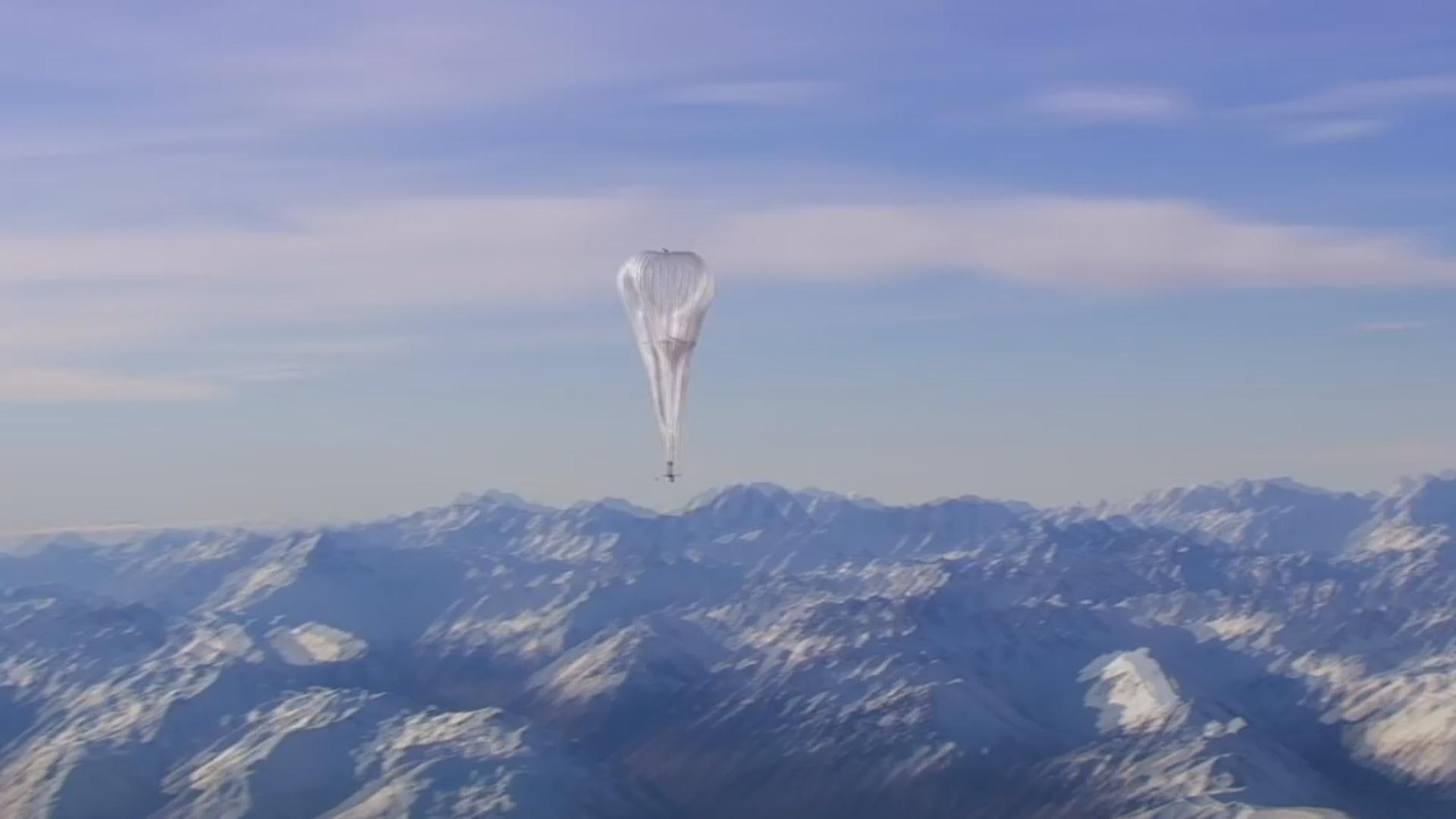 İnternet-stratostatları məlumatları rekord məsafəyə ötürüb