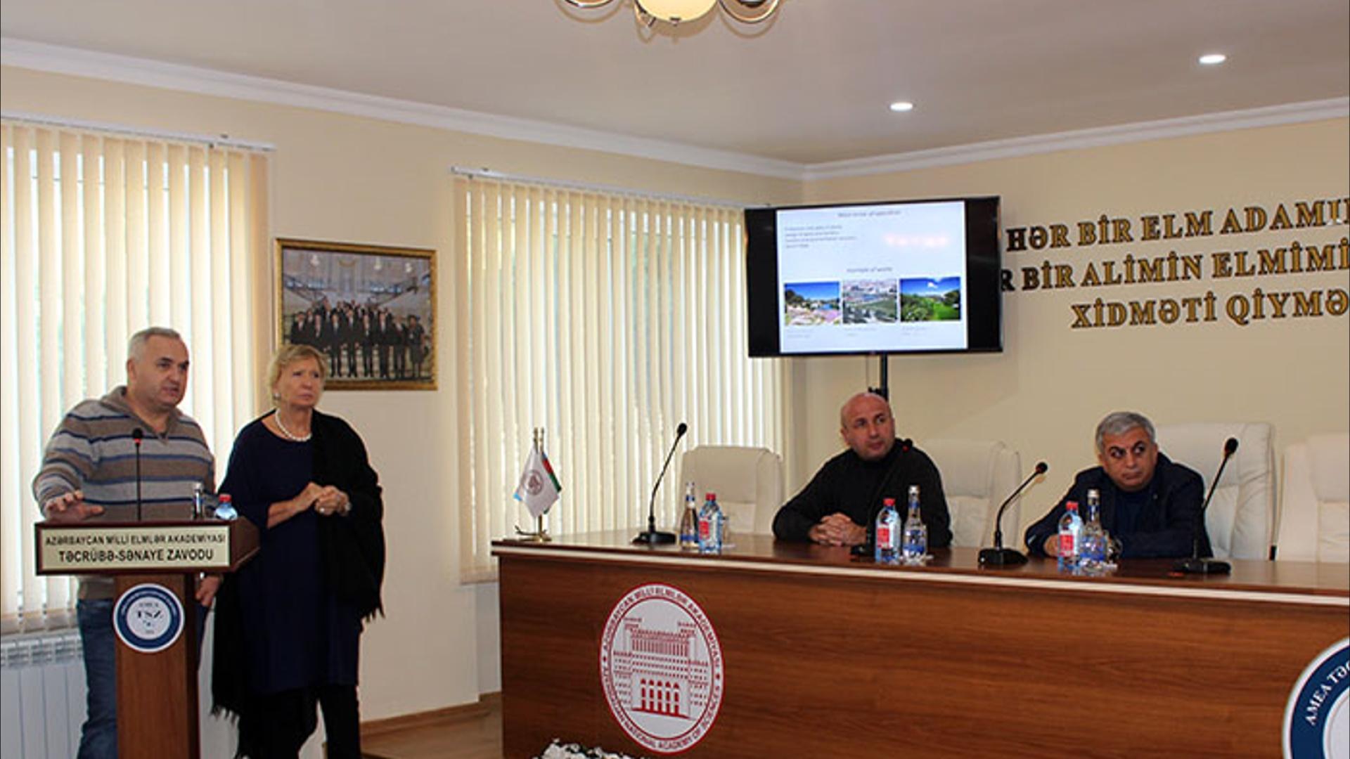 """İtaliyanın """"Skaravatti Qrup"""" şirkəti ilə pilot layihə həyata keçiriləcək"""