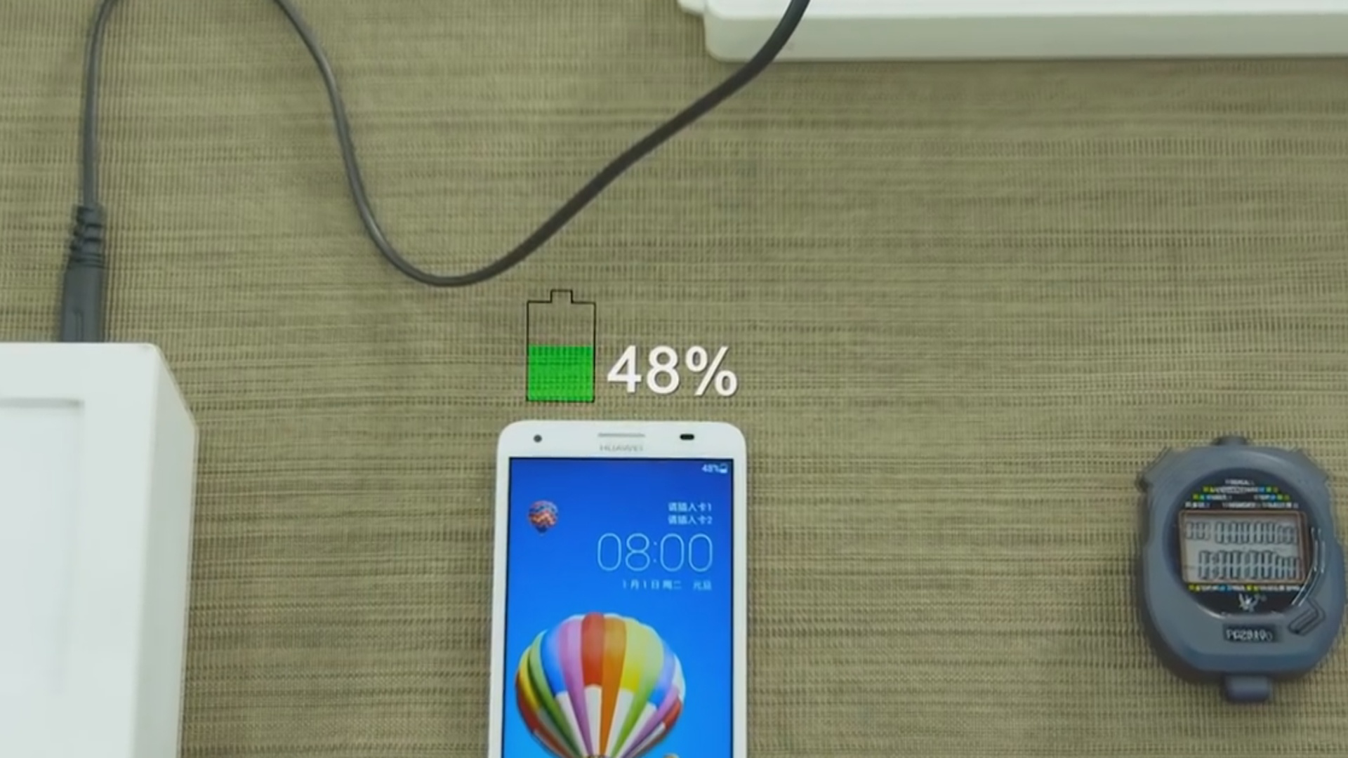 Smartfonlar yeni qurğu ilə 10 dəqiqə ərzində tam enerji ilə təmin olunacaq