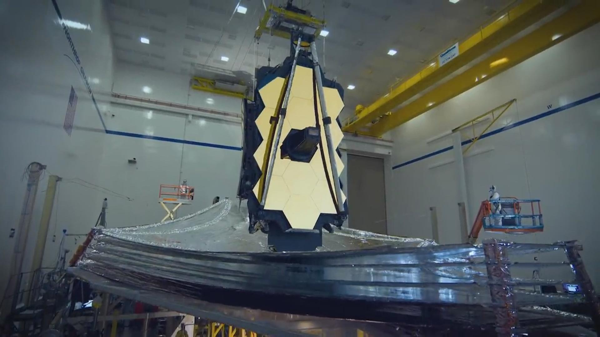 Ceyms Veb teleskopu yeni imkanlar və kosmos