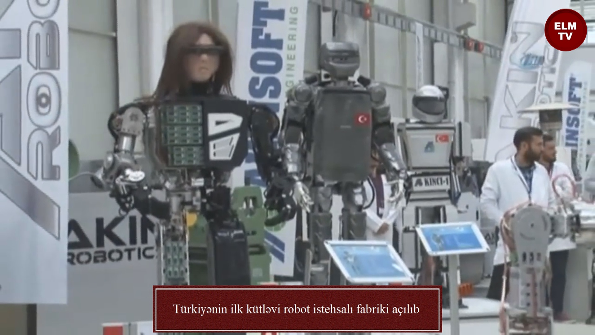 Türkiyənin ilk kütləvi robot istehsalı fabriki açılıb