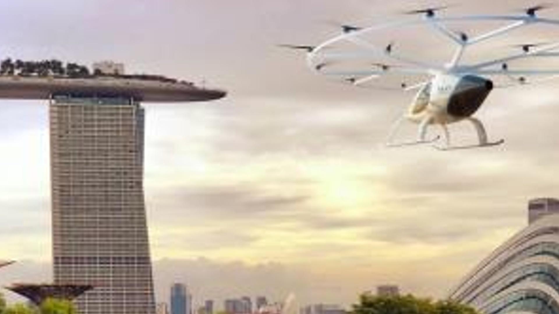 2024-cü ilədək Fransa və Sinqapurda aerotaksi xidməti istifadəyə veriləcək