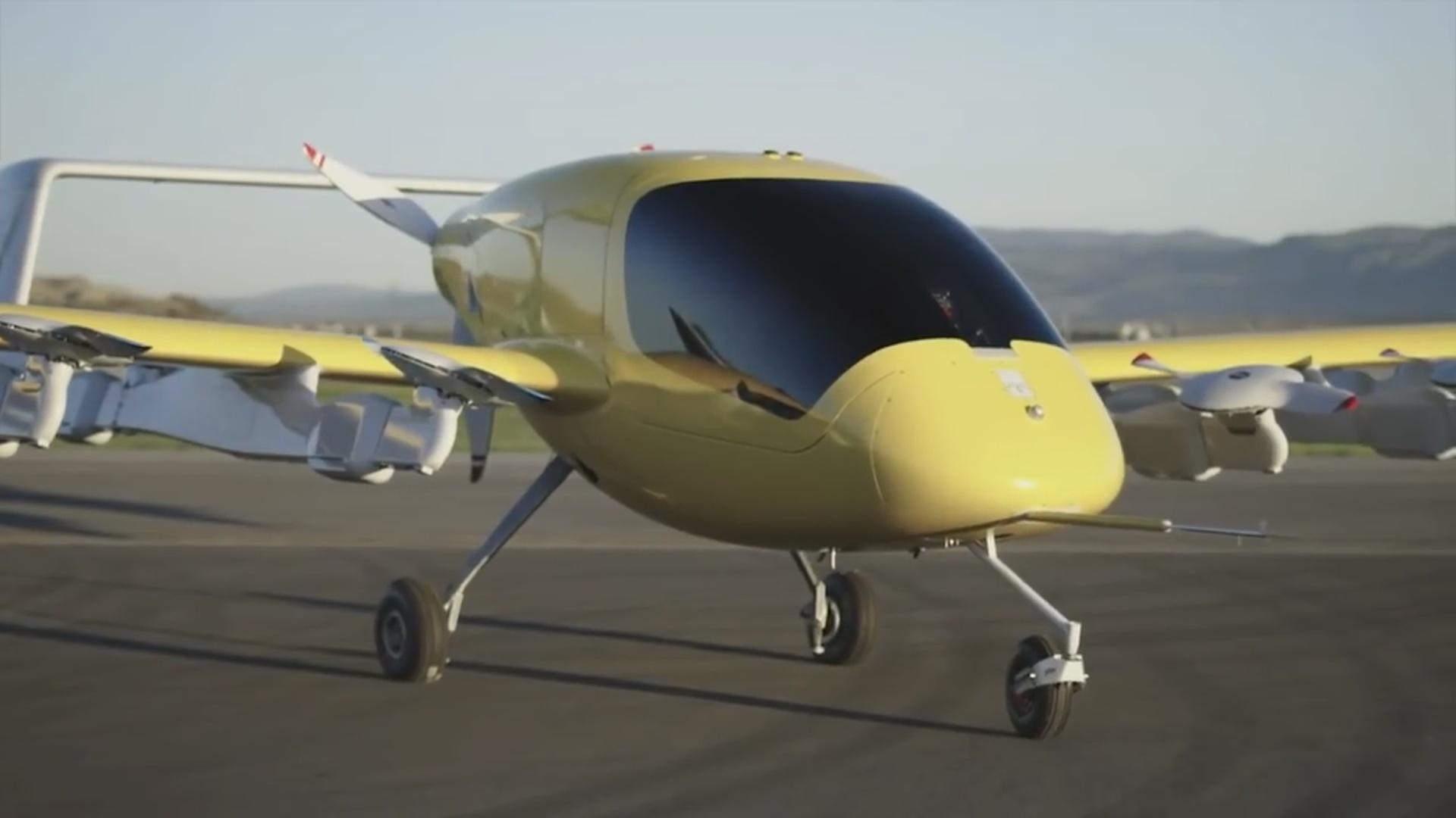 Səkkiz ilə hazırlanan uçan taksi
