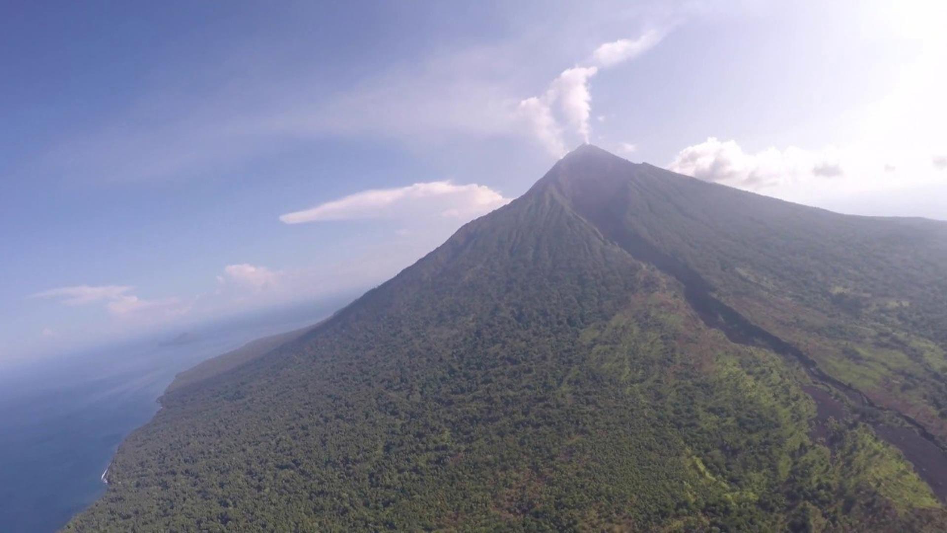 Vulkanların fəaliyyətinin tədqiqatında dronlardan istifadə ediləcək