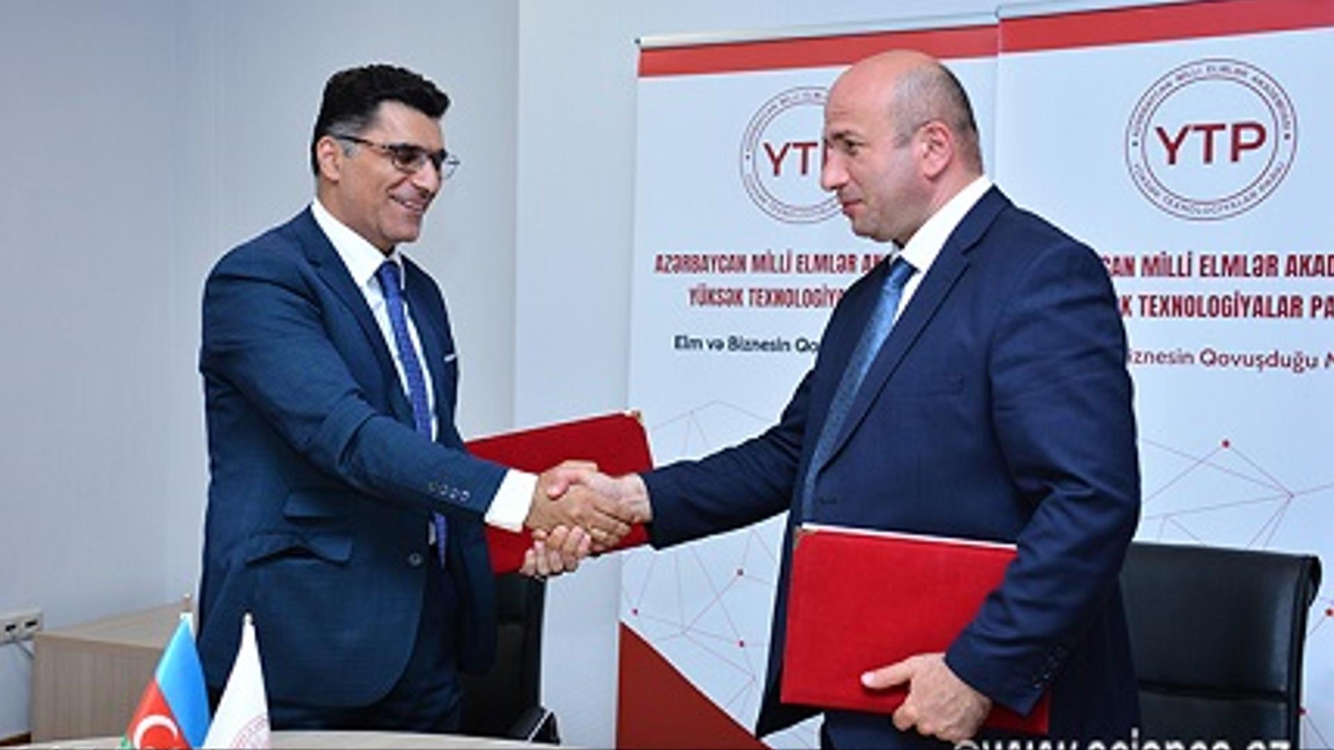 """Yüksək Texnologiyalar Parkı və """"EPC Group"""" MMC arasında əməkdaşlığa dair saziş imzalanıb"""