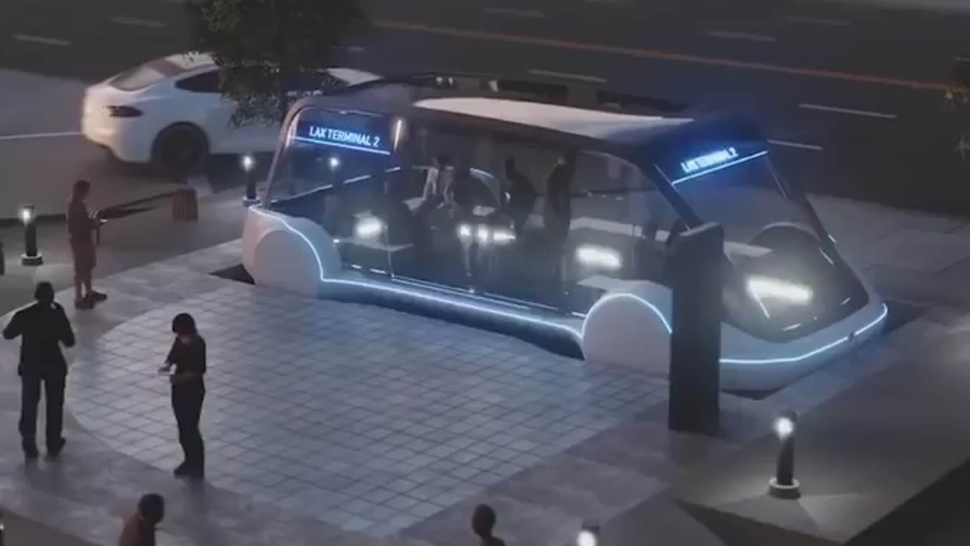 Yeraltı avtobuslar dövrü gəlir