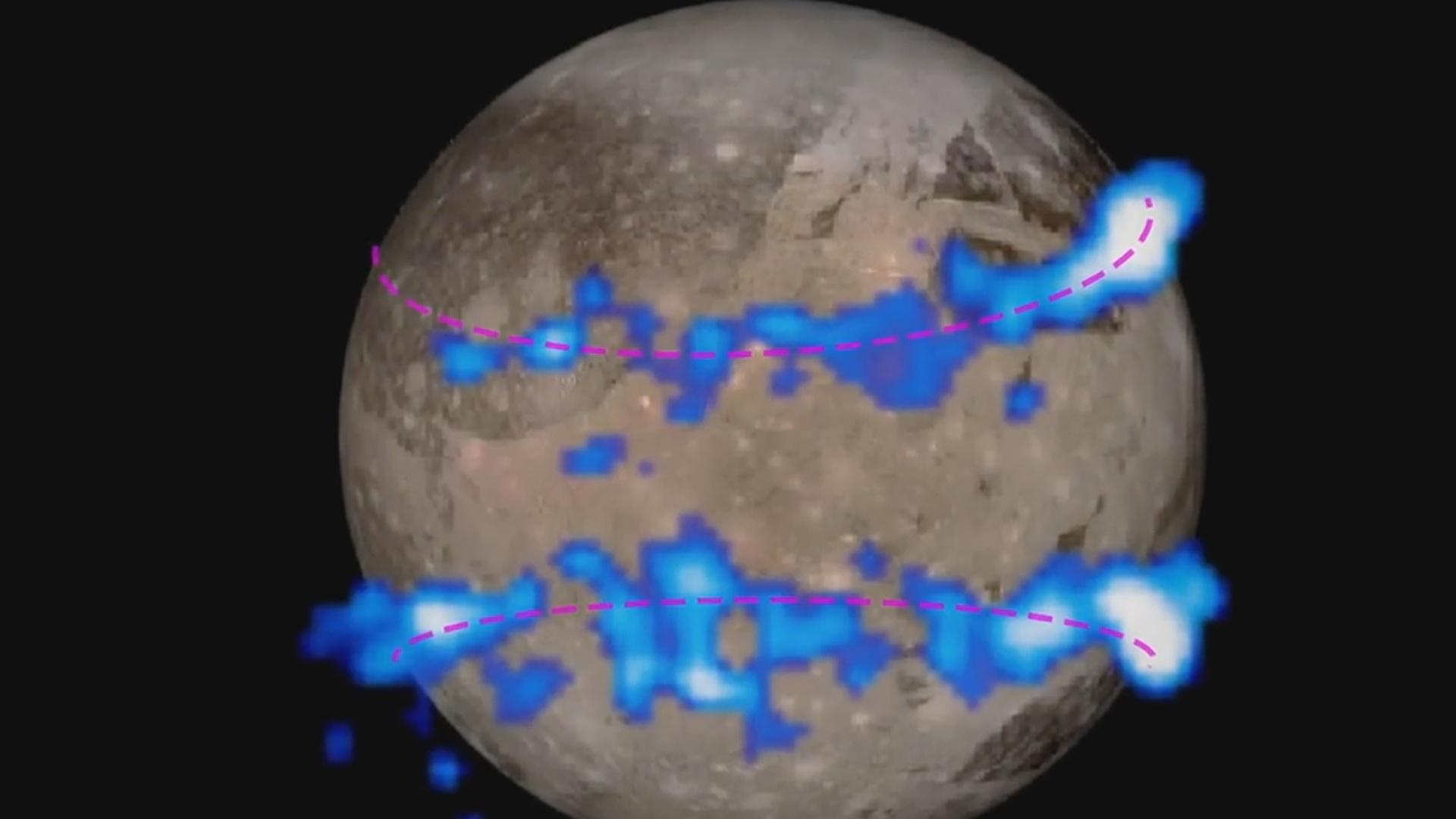 Yupiterin ən böyük peyki Qanimeddə suyun mövcudluğuna dair sübutlar əldə olunub
