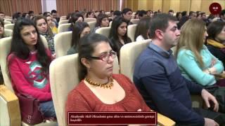 Akademik Akif Əlizadənin gənc alim və mütəxəssislərlə görüşü keçirilib