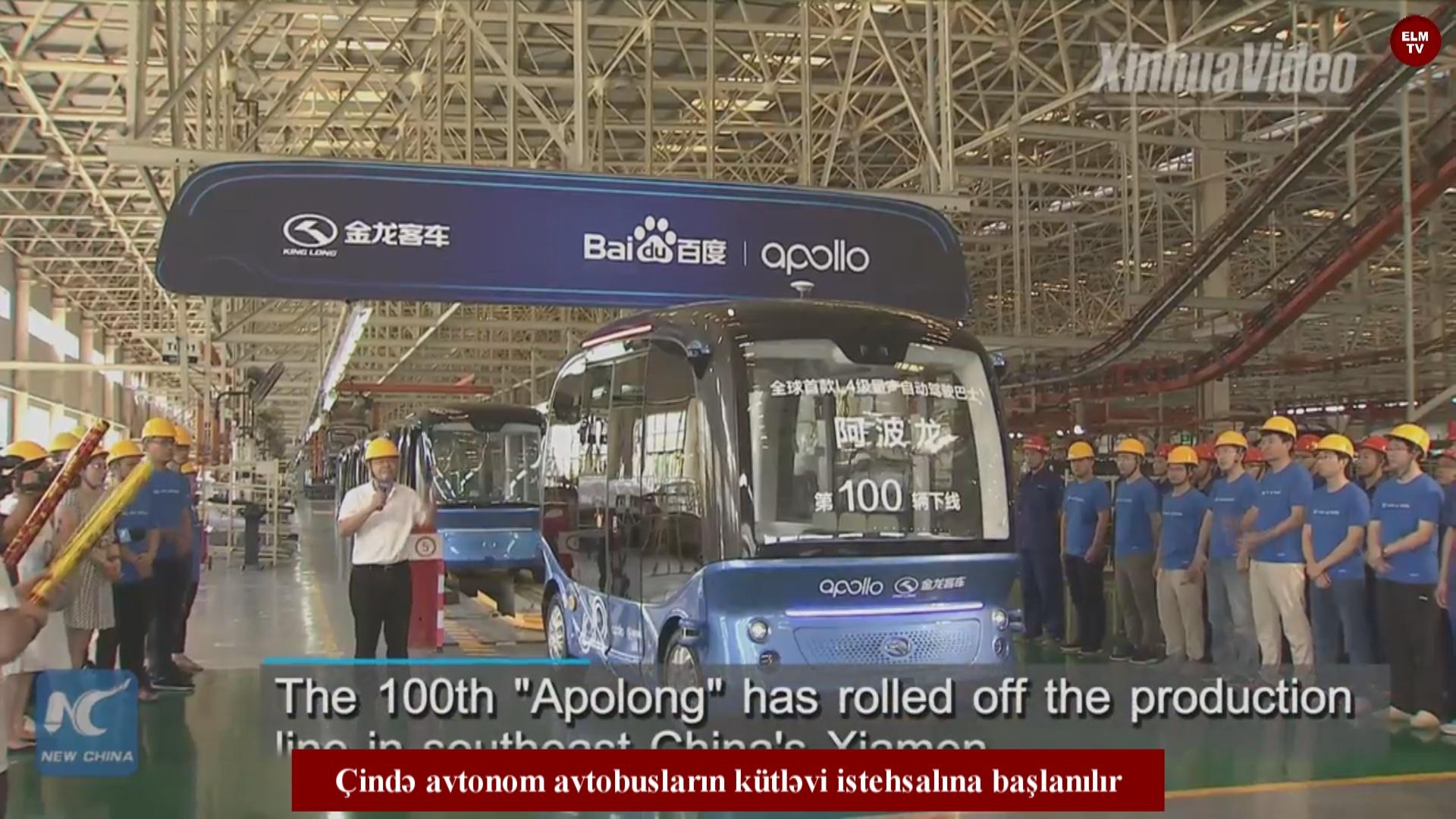 Avtonom avtobusların kütləvi istehsalına başlanılır