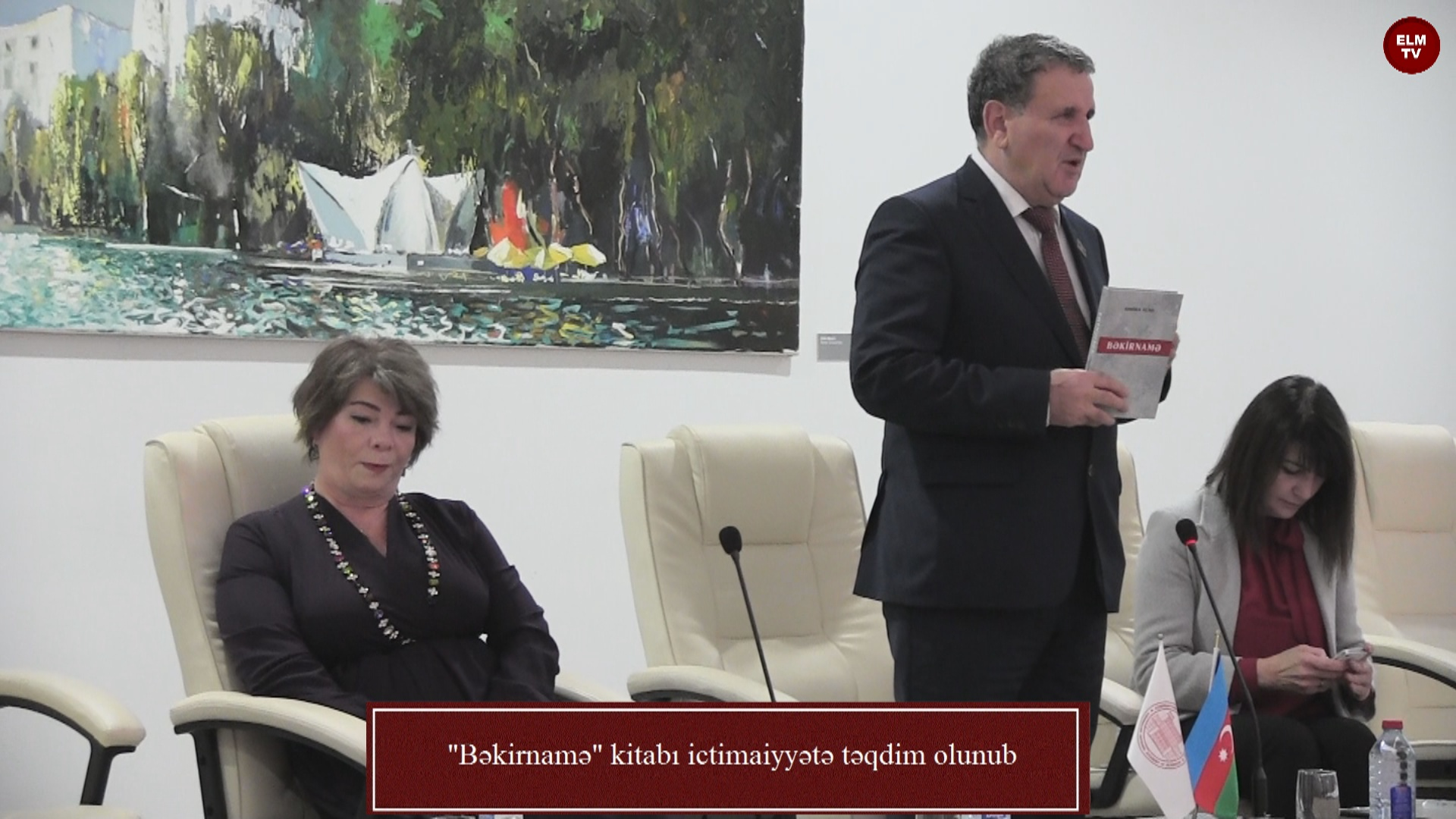 """""""Bəkirnamə"""" kitabı ictimaiyyətə təqdim olunub"""
