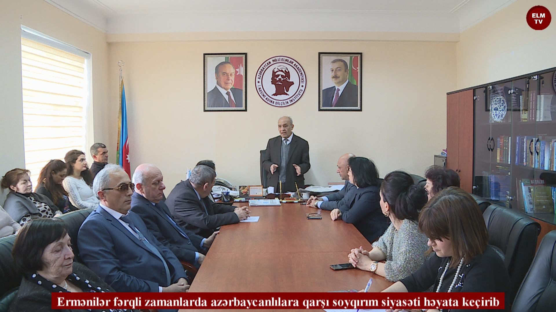 Ermənilər fərqli zamanlarda azərbaycanlılara qarşı soyqırım siyasəti həyata keçirib