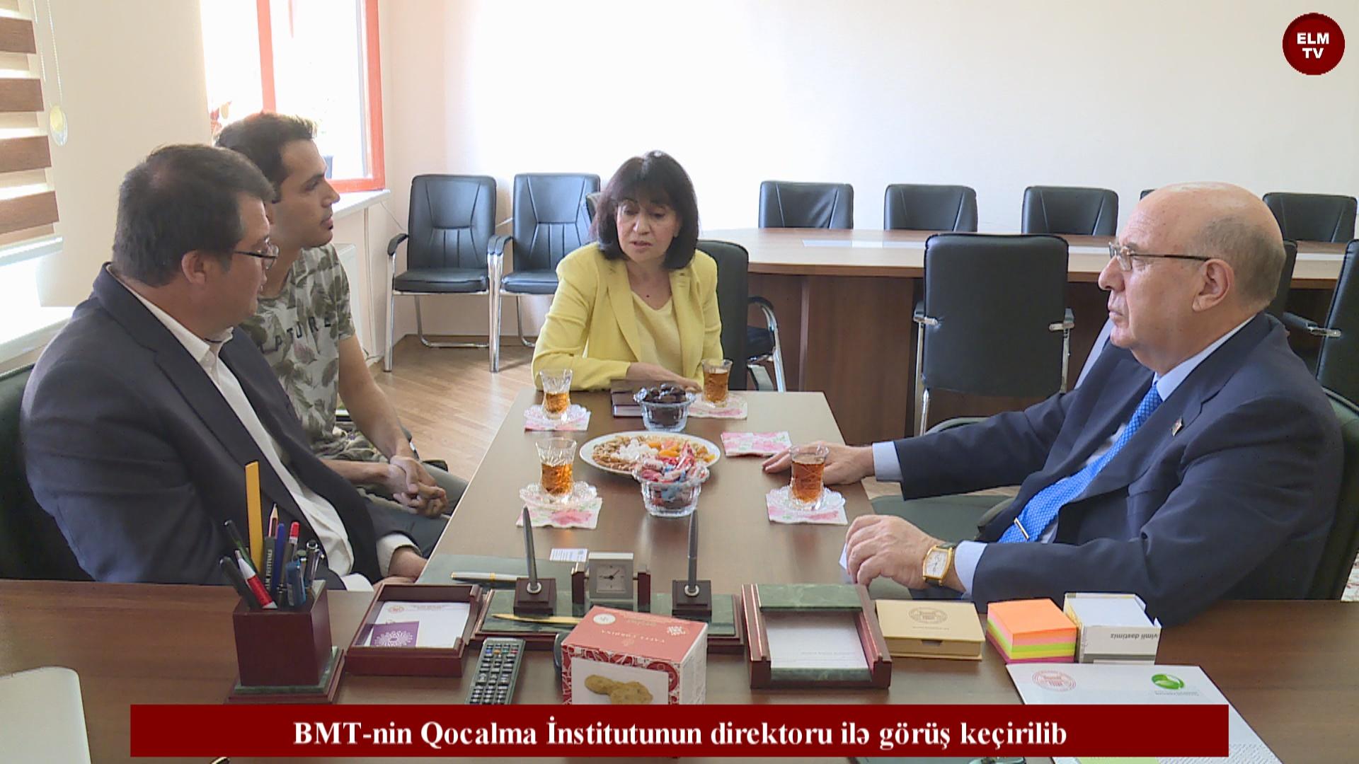 BMT-nin Qocalma İnstitutunun direktoru ilə görüş keçirilib