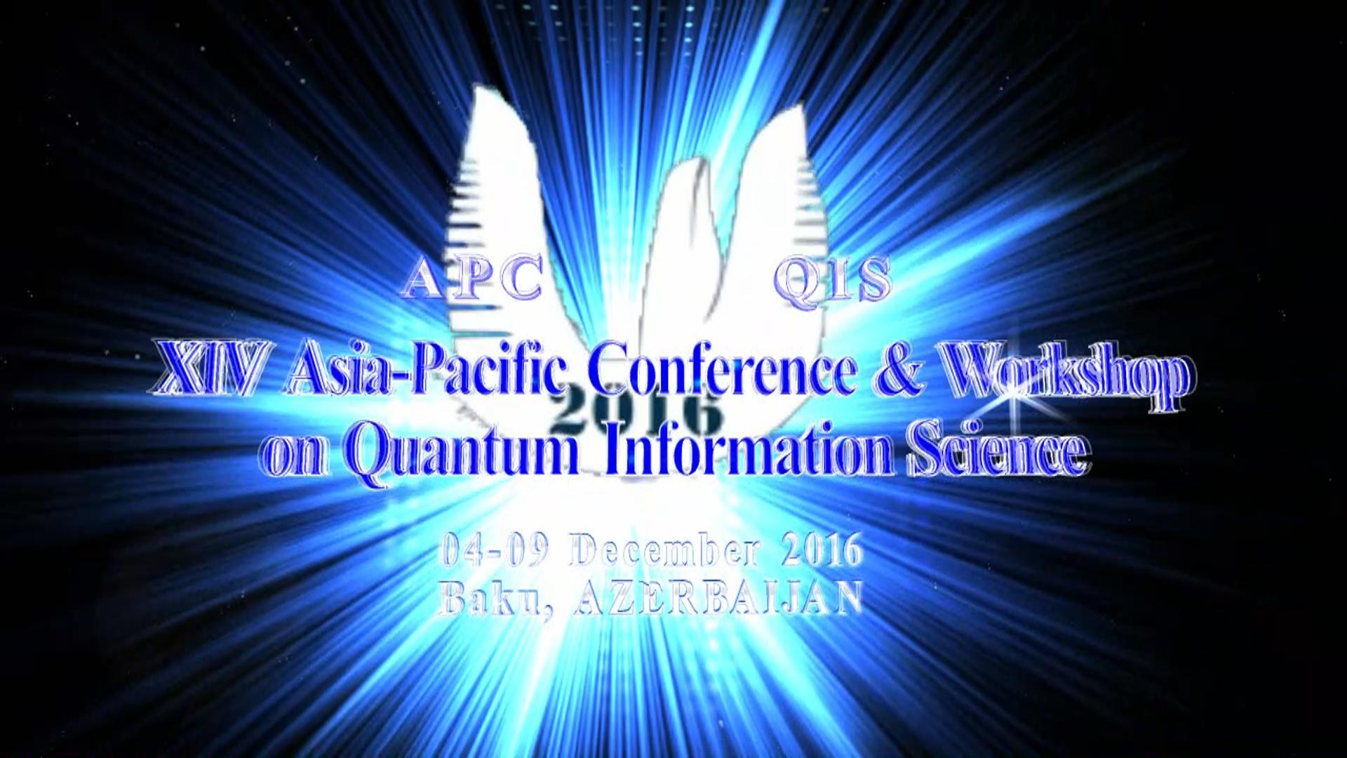 XIV ASiya-Sakit Okean hövzəsi Ölkələrinin Kvant İnformatikası Elmi Konfransı və Seminarı