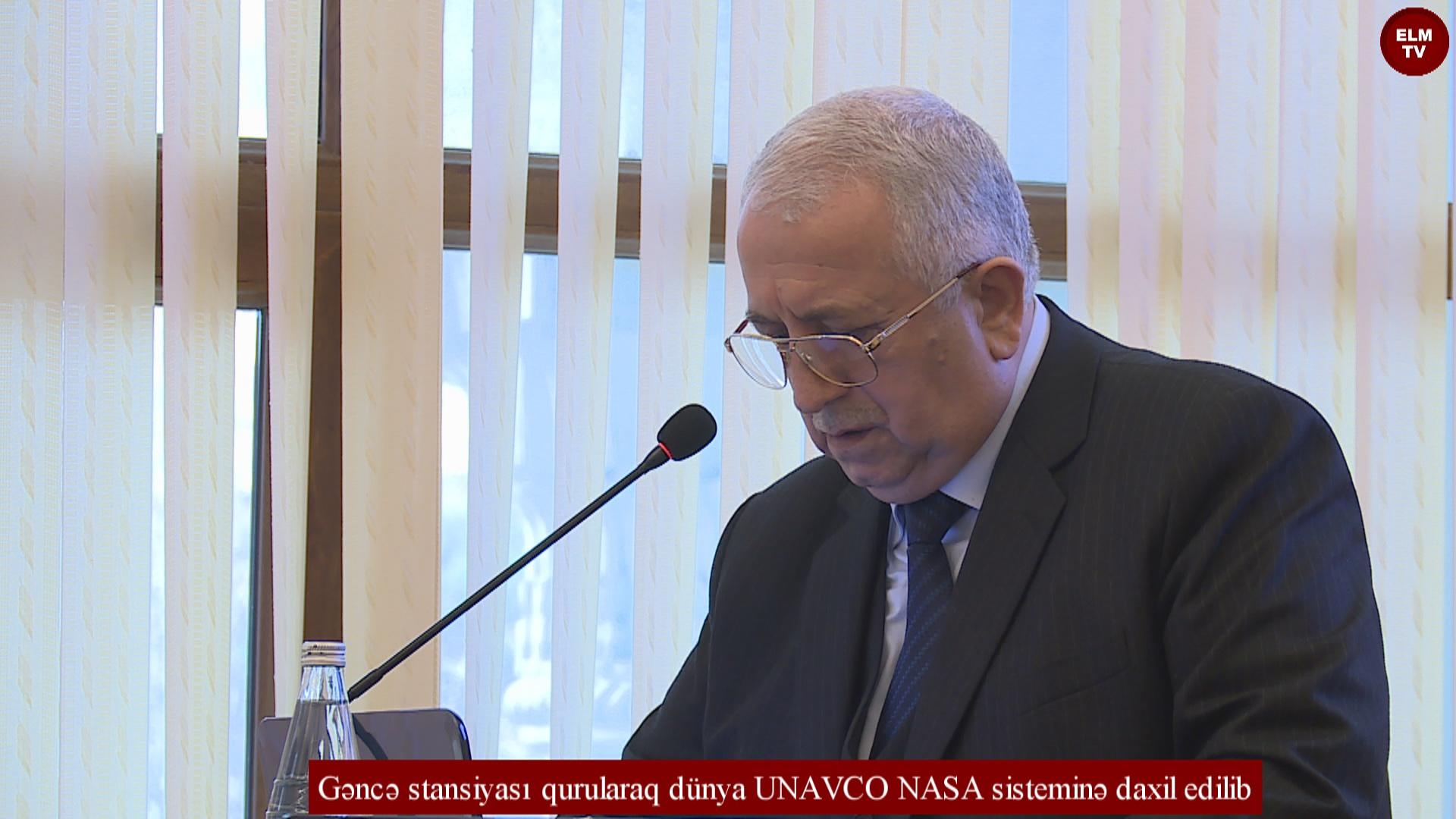 Gəncə stansiyası qurularaq dünya UNAVCO NASA sisteminə daxil edilib
