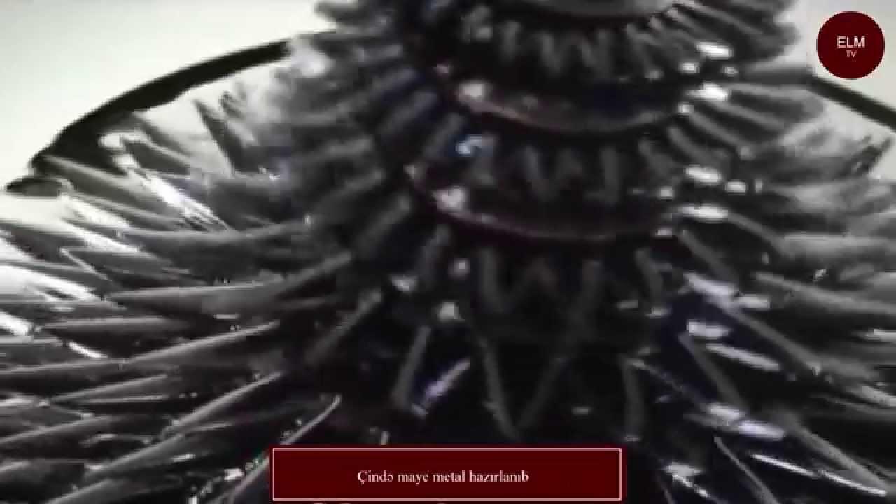 Çində maye metal hazırlanıb