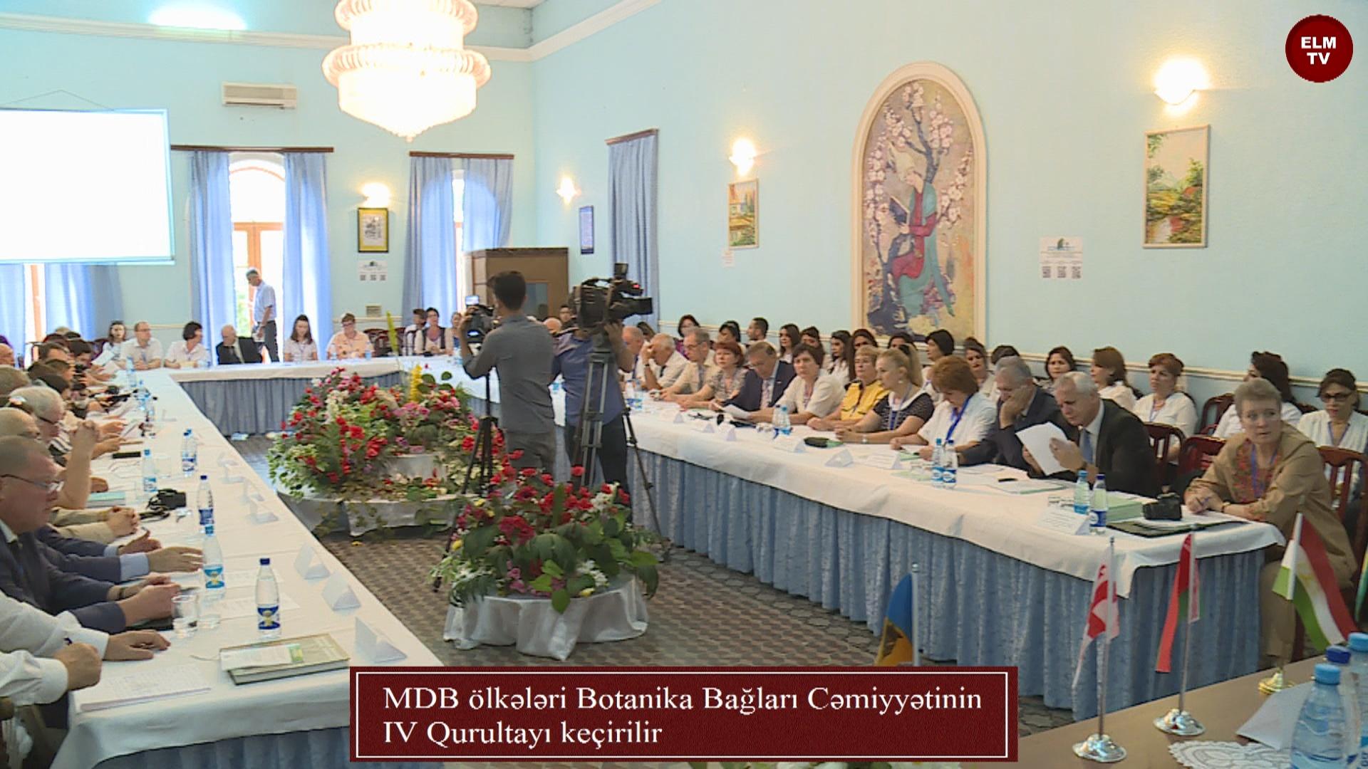 MDB ölkələri Botanika Bağları Cəmiyyətinin IV Qurultayı keçirilir