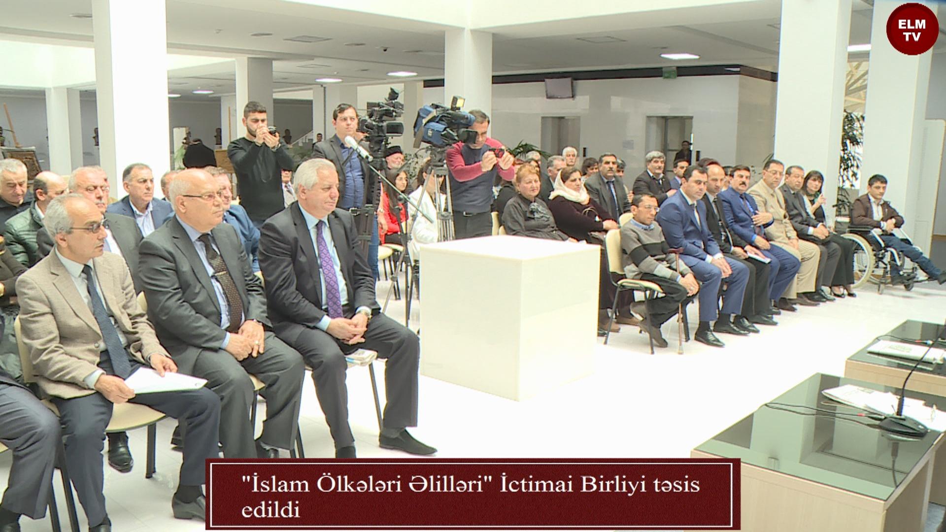 """""""İslam Ölkələri Əlilləri"""" İctimai Birliyi təsis edildi"""