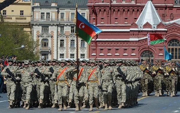 Qələbənin 75 illiyi münasibətilə Moskvada hərbi parad keçirilib