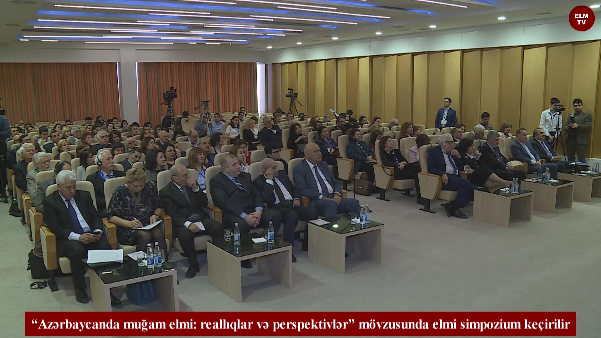 """""""Azərbaycanda muğam elmi: reallıqlar və perspektivlər"""" mövzusunda elmi simpozium keçirilir"""