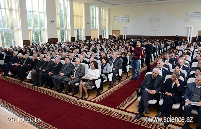 Polimer Materialları İnstitutunun 50 illik yubileyi münasibətilə respublika elmi konfransı keçirilib