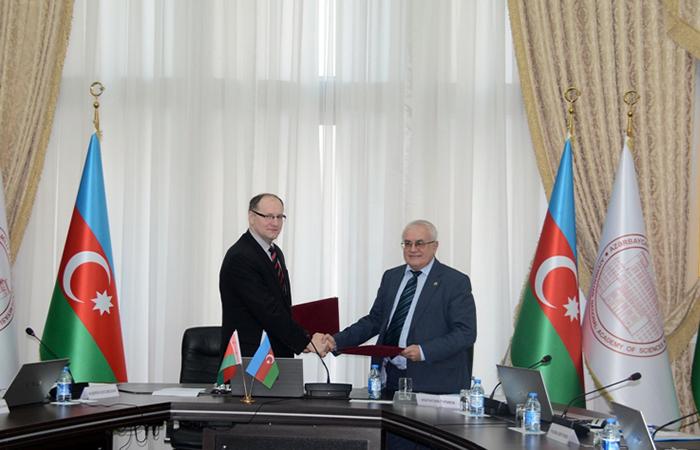 Belarus elmi-texniki mərkəzi ilə əməkdaşlığa dair protokol imzalanıb